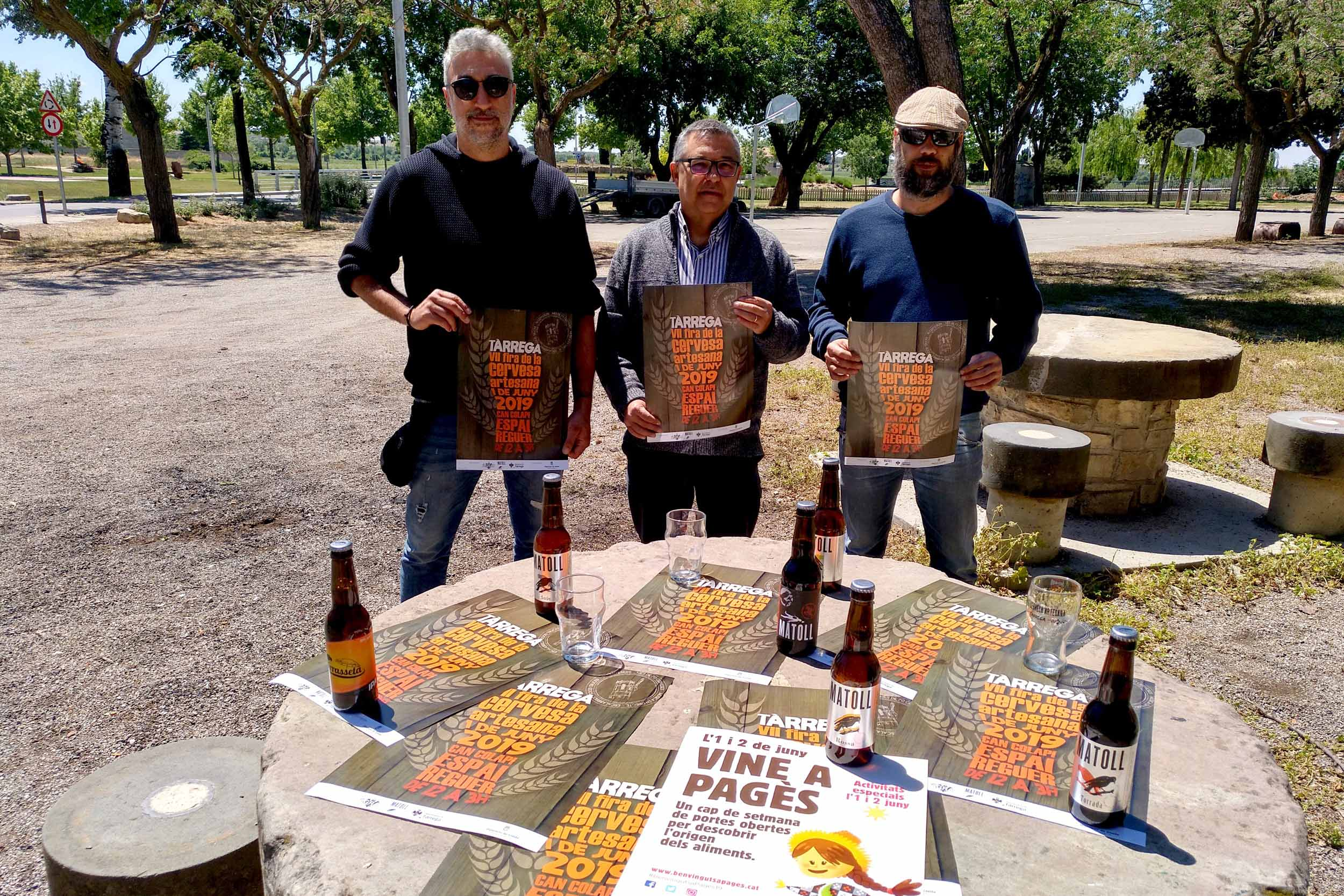 La Fira de la Cervesa Artesana de Tàrrega  aplegarà per primera vegada tots els elaboradors lleidatans amb marca pròpia