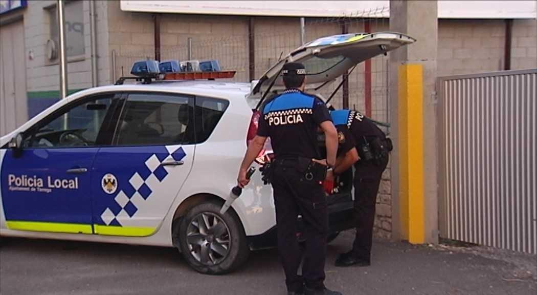 La Policia Local de Tàrrega deté els presumptes autors de dos robatoris amb força a l'interior de domicilis