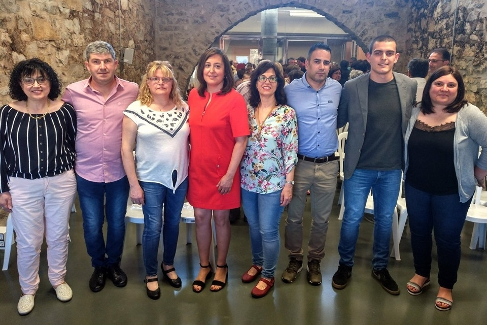 Marta Vilardosa ha estat investida presidenta de la junta de l'EMD del Talladell