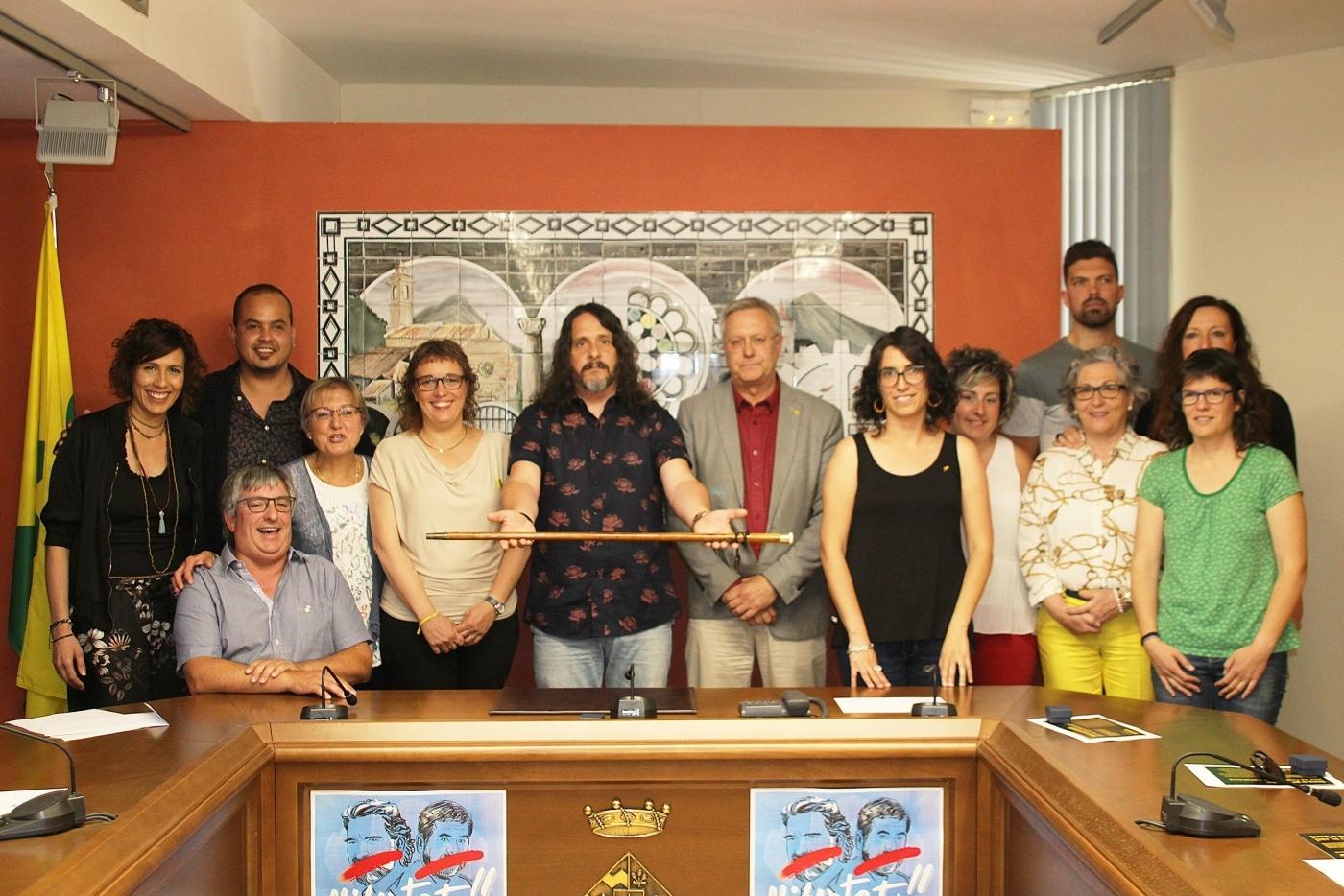 Jordi Estiarte ( AMR-AM )  nou alcalde de Bellpuig