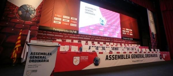 Tàrrega acollirà avui l'assemblea general ordinària de la Federació Catalana de Futbol