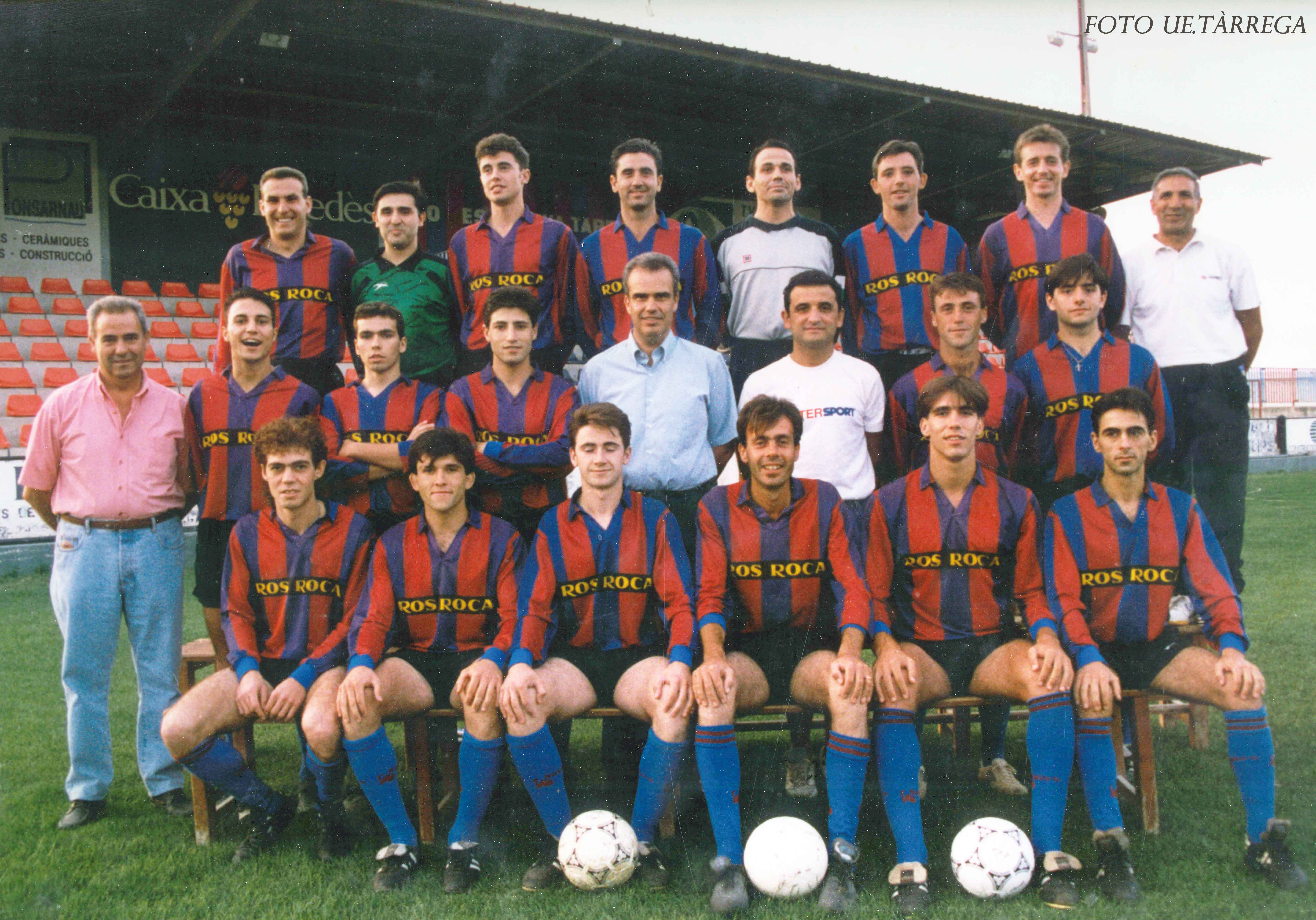 Avui fa  25 anys de l'ascens de la UE Tàrrega a Tercera Divisió Nacional