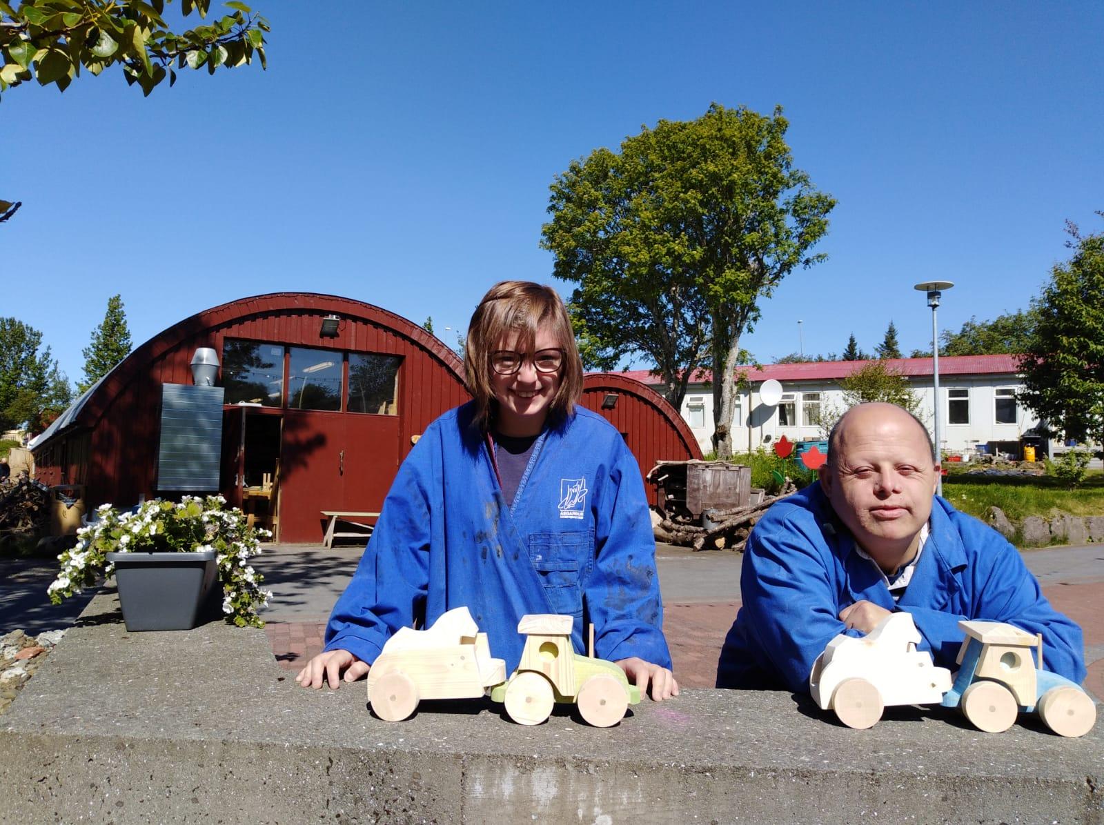 Quatre persones del Grup Alba són a Islàndia per conèixer un projecte de fusteria d'una entitat social, gràcies al programa europeu CREA.