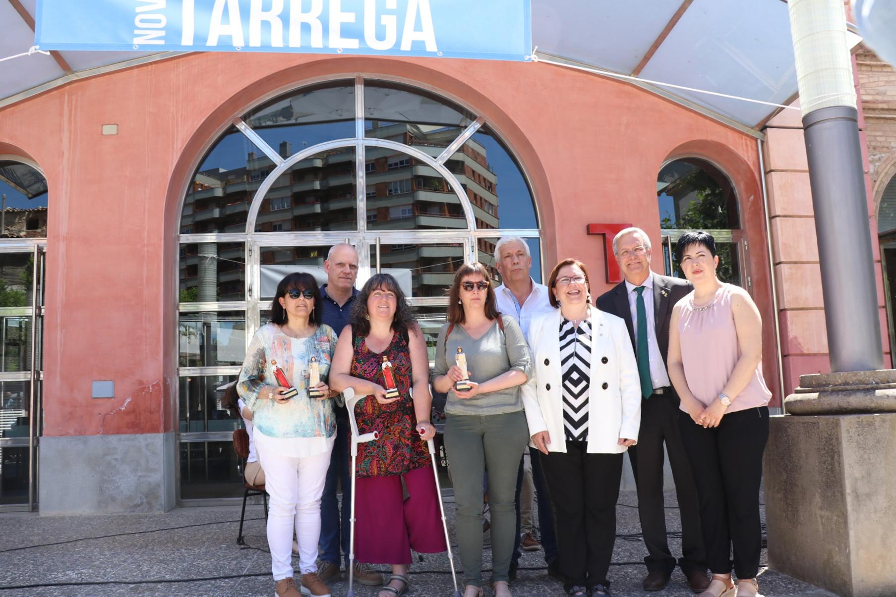 Rosa Maria Perelló assenyala 'Nova Tàrrega' com un referent de la comarca de l'Urgell en l'acte de celebració del 75è aniversari de la revista