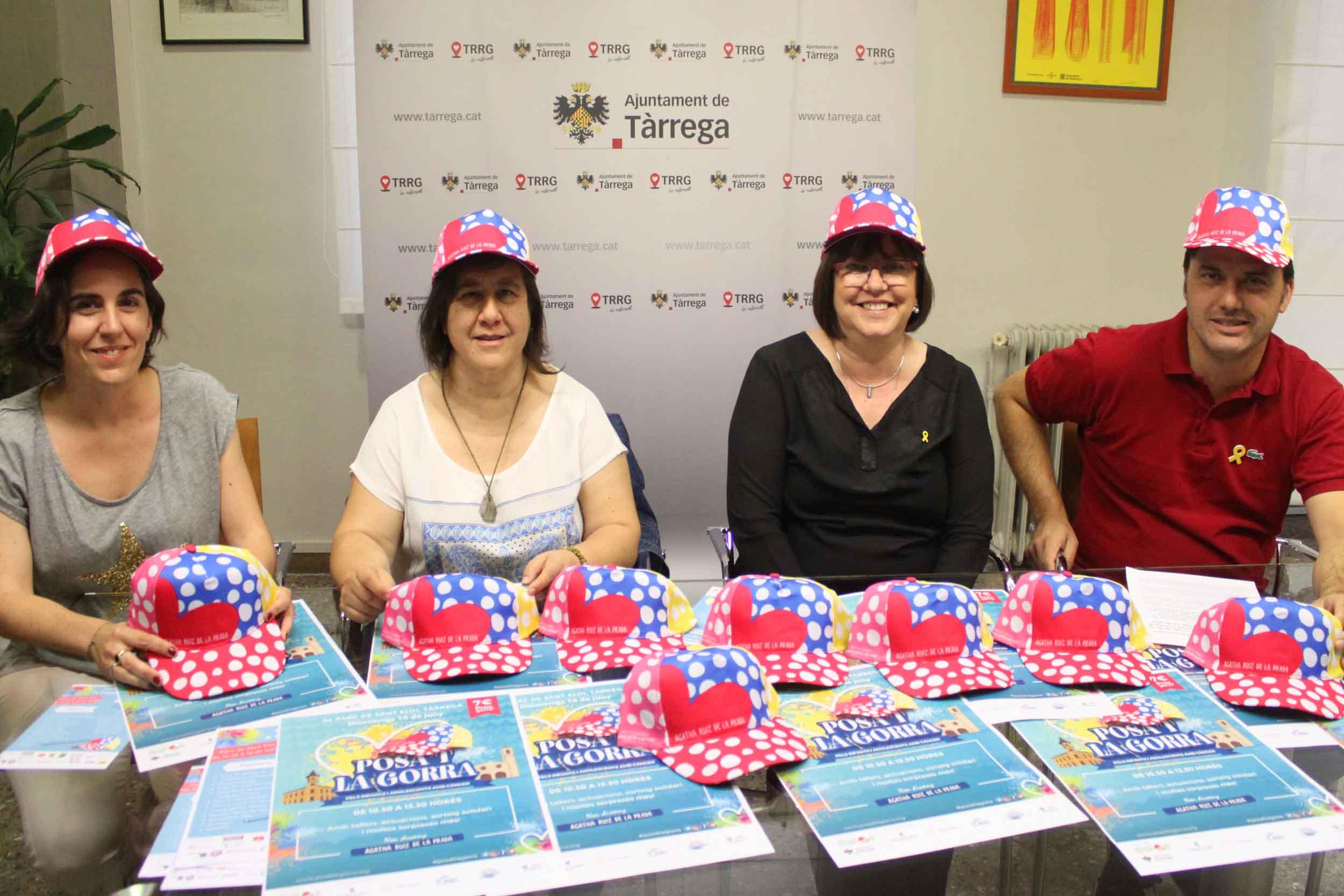 """Tàrrega celebrarà una nova edició de la festa solidària """"Posa't la Gorra"""" contra el càncer infantil el diumenge 16 de juny"""