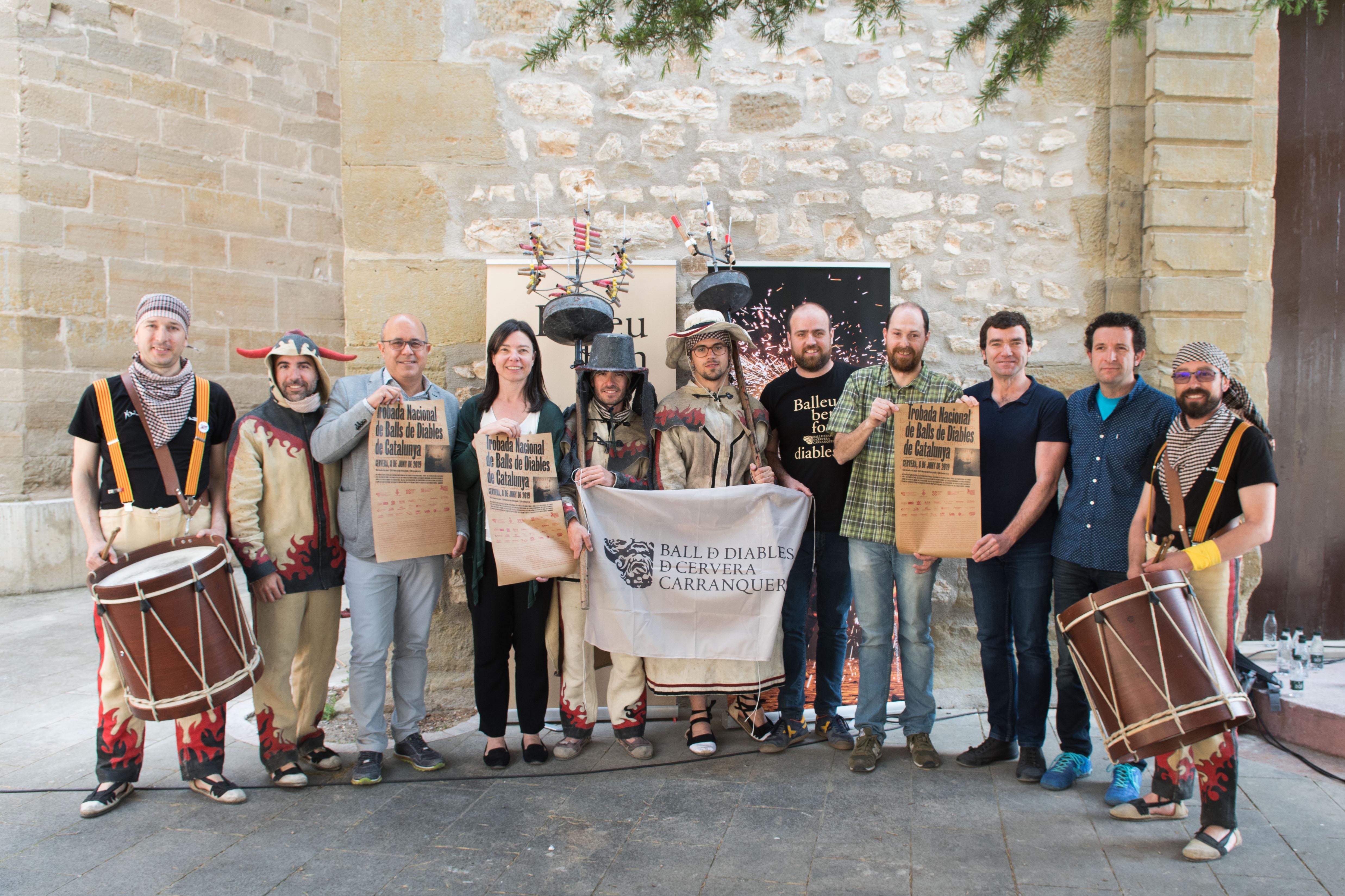 La Trobada Nacional de Balls de Diables i la mostra de microtreatre 'A Pèl', activitats destacades del mes de juny a Cervera Capital de la Cultura Catalana 2019