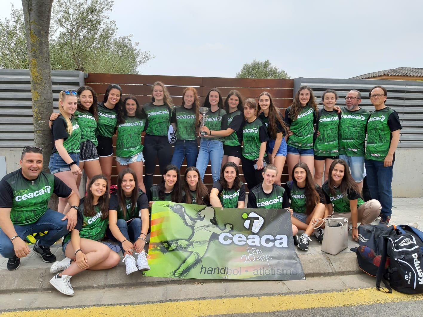 Ceaca Tàrrega 23- 26 H.C. Perelló   Derrota agredolça del cadet femení a la final de la Copa Federació