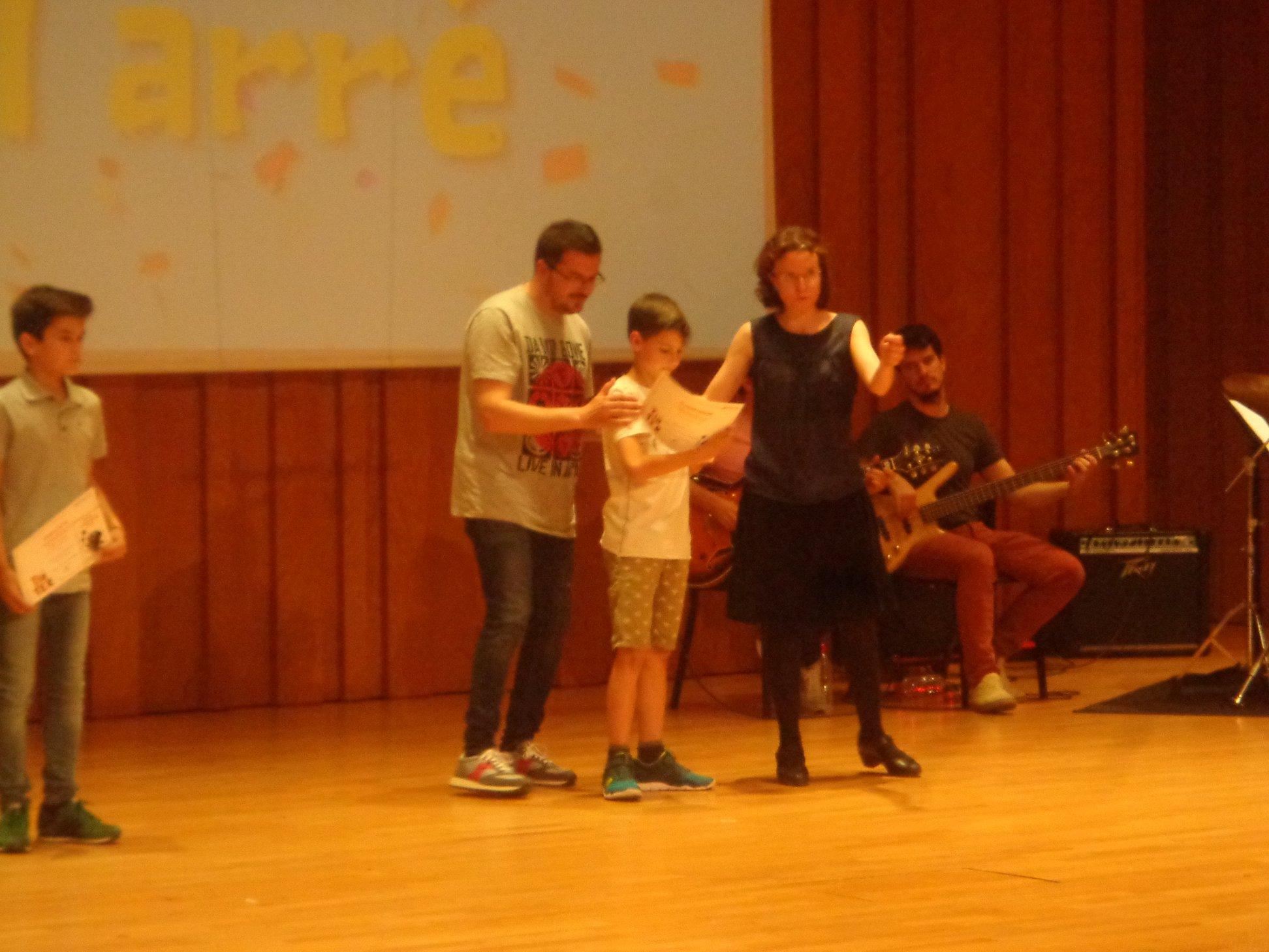 Martí Vilaró Farré, de l'Escola Mare de Déu del Socós d'Agramunt, ha estat el guanyador del Premi Pissiganya del Cicle Inicial de Primària.