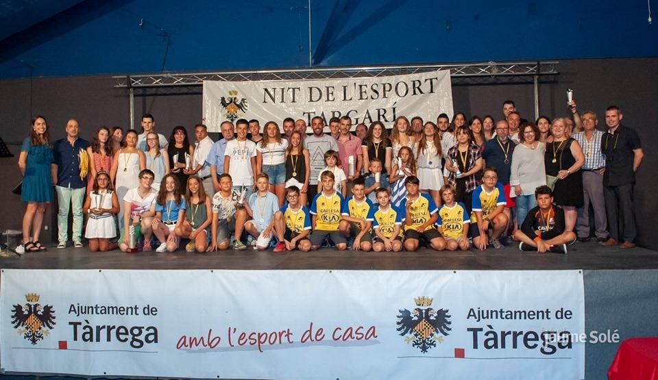 Tàrrega lliura els guardons de la 15a edició de la Nit de l'Esport Targarí
