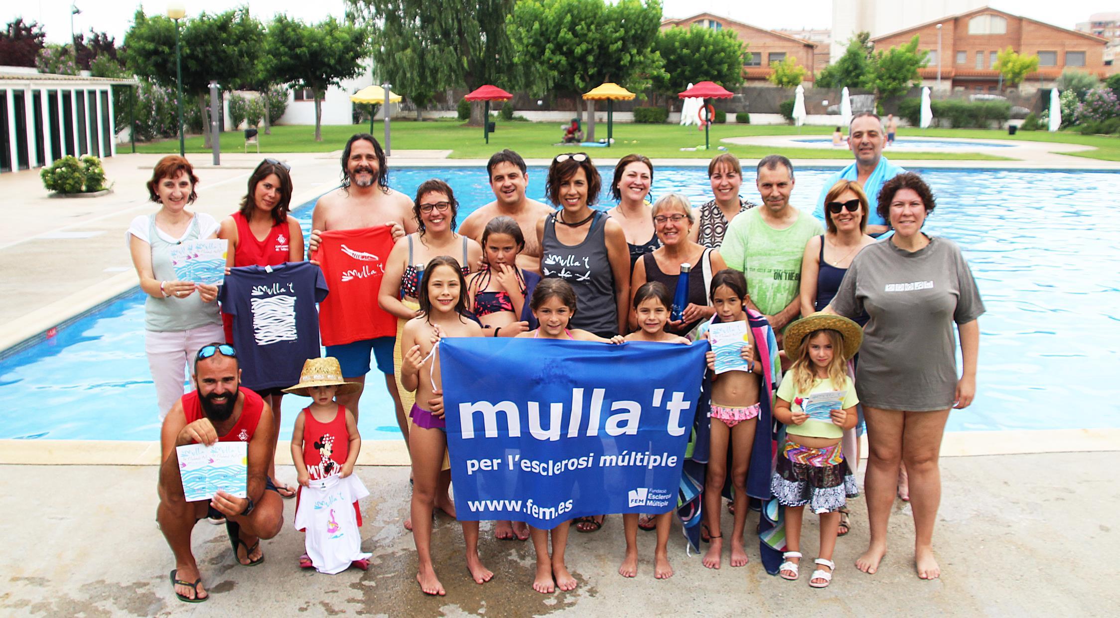 """Les Piscines municipals de Bellpuig  participen en la campanya """"Mulla't per l'Esclerosi Múltiple"""