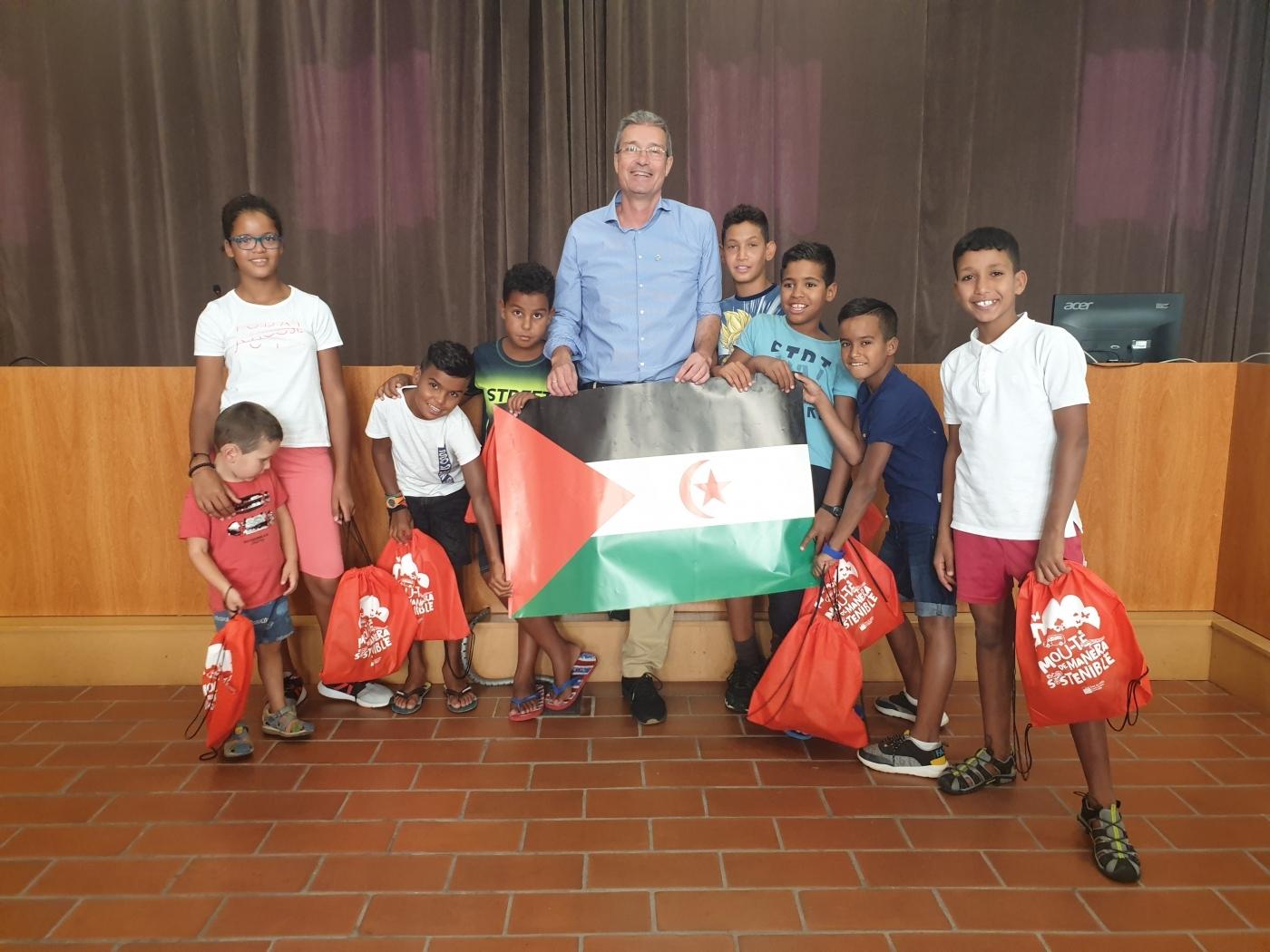18 infants Sahrauís passen l'estiu a la Segarra, l'Urgell, la Noguera i el Solsonès acollits en famílies