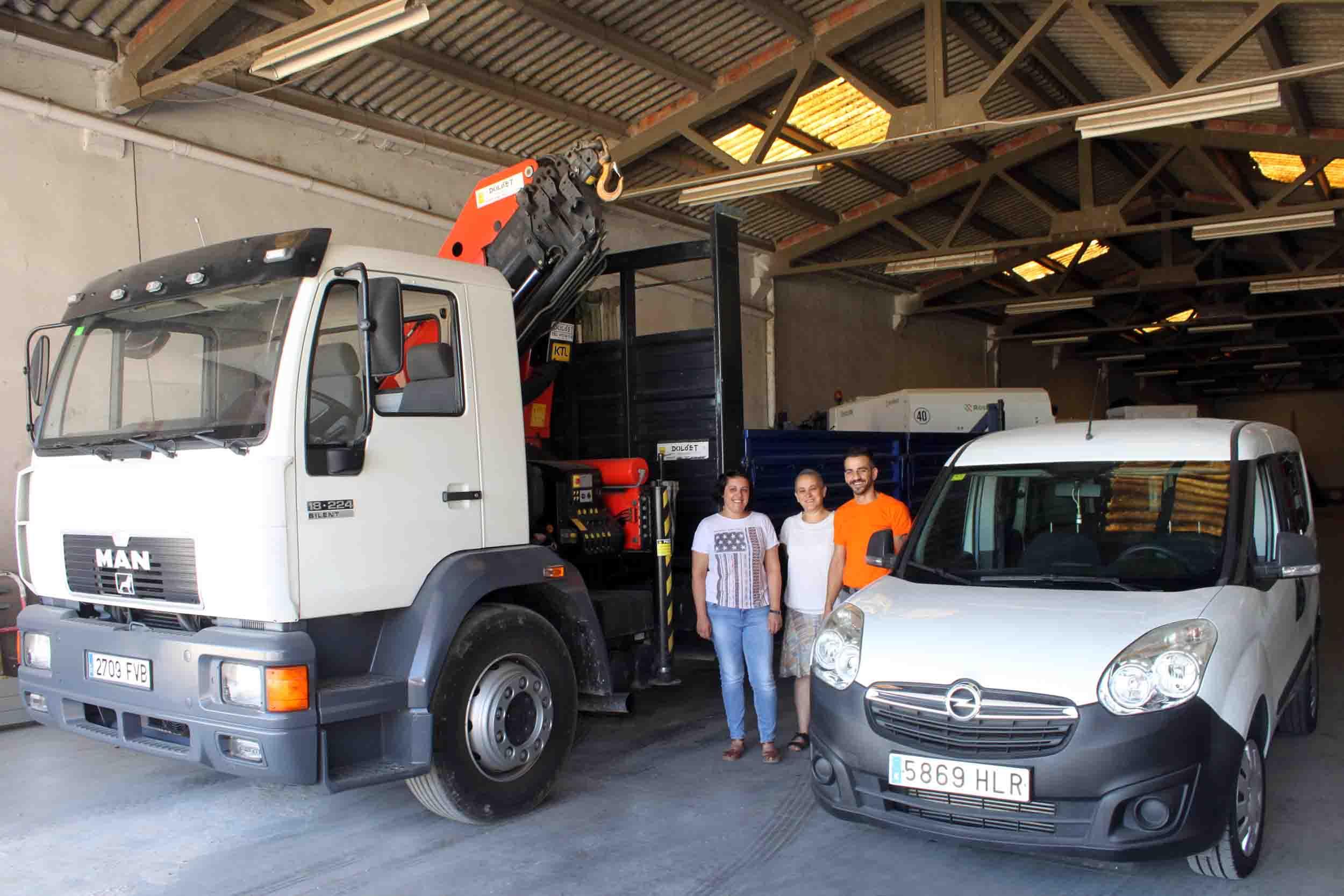 L'Ajuntament de Tàrrega adquireix  un camió grua i una furgoneta per la brigada de Serveis Municipals