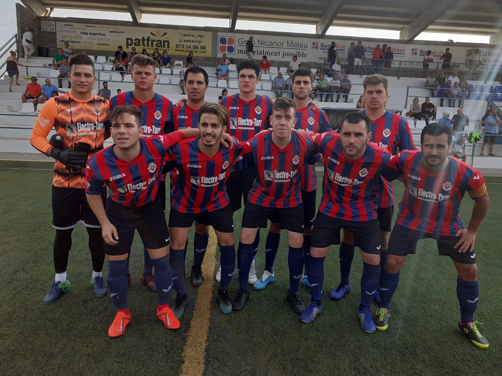 La UE Tàrrega eliminat de la Copa Lleida en perdre per 2 a 1 al camp del Borges Blanques.