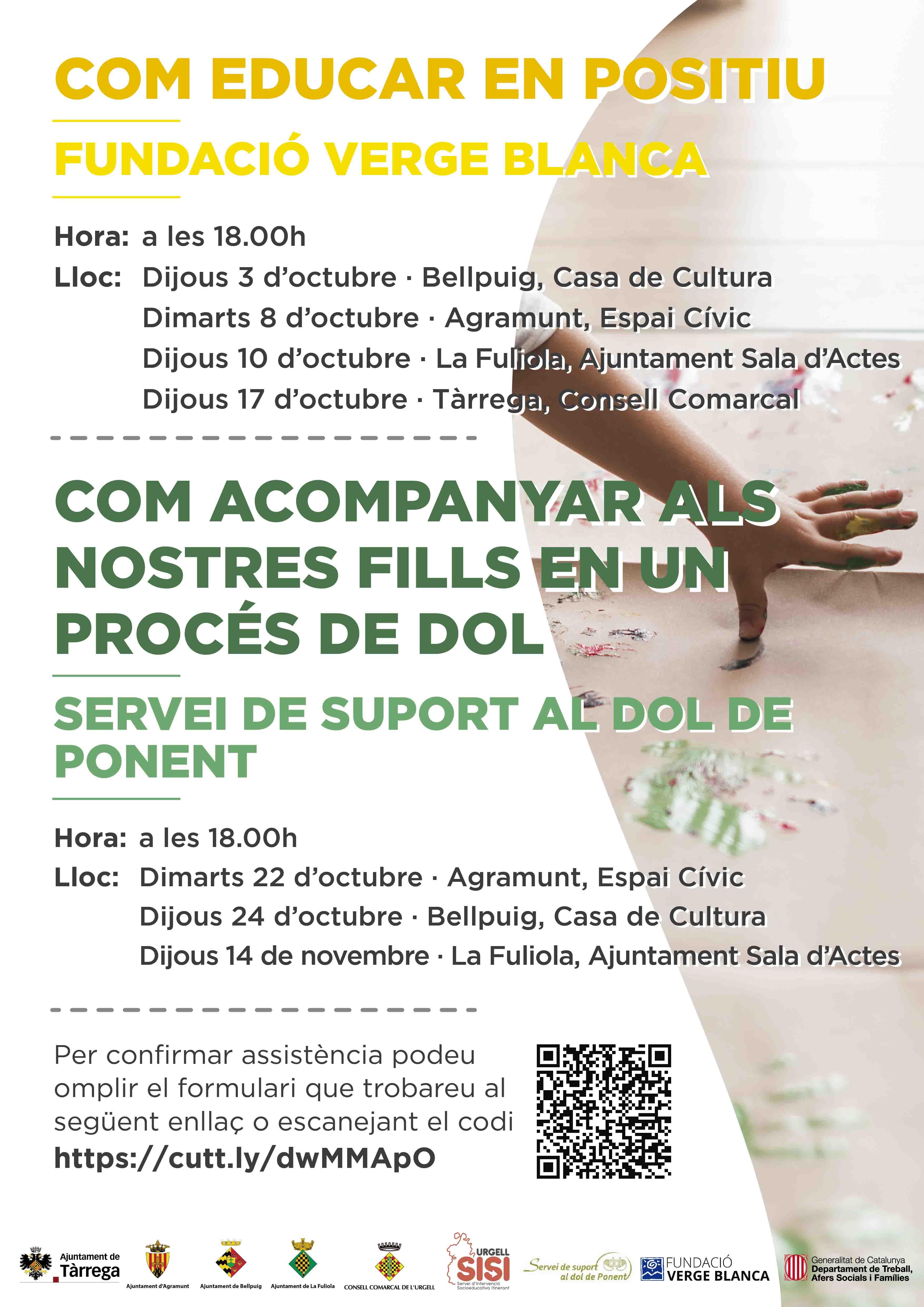 Cicle de xerrades per a famílies de la comarca de l'Urgell
