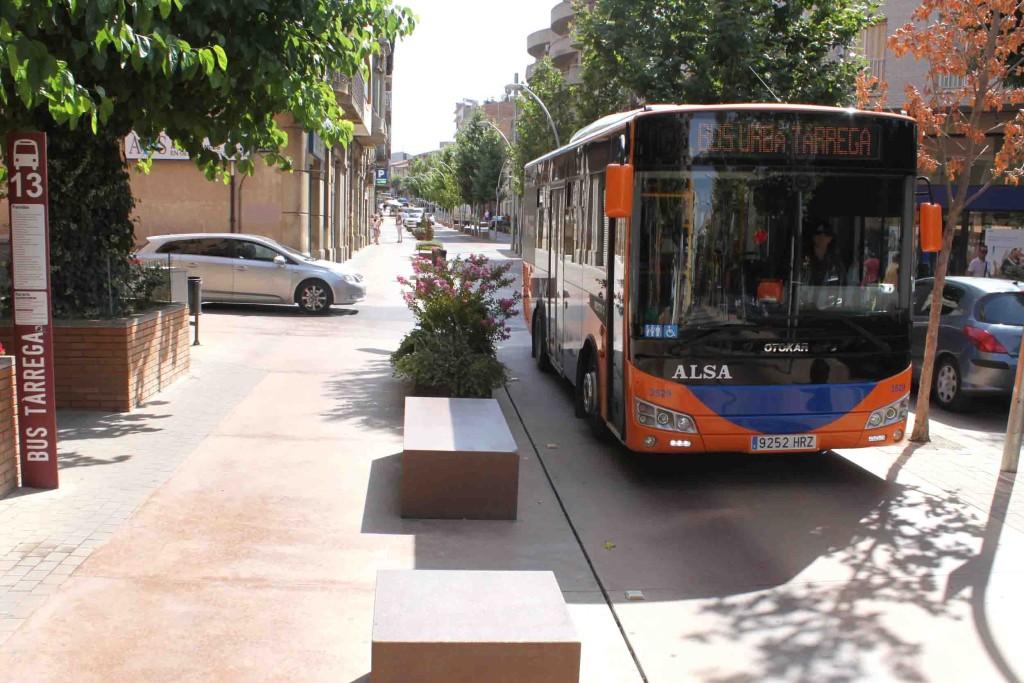 IMATGE D'ARXIU · Bus urbà de Tàrrega