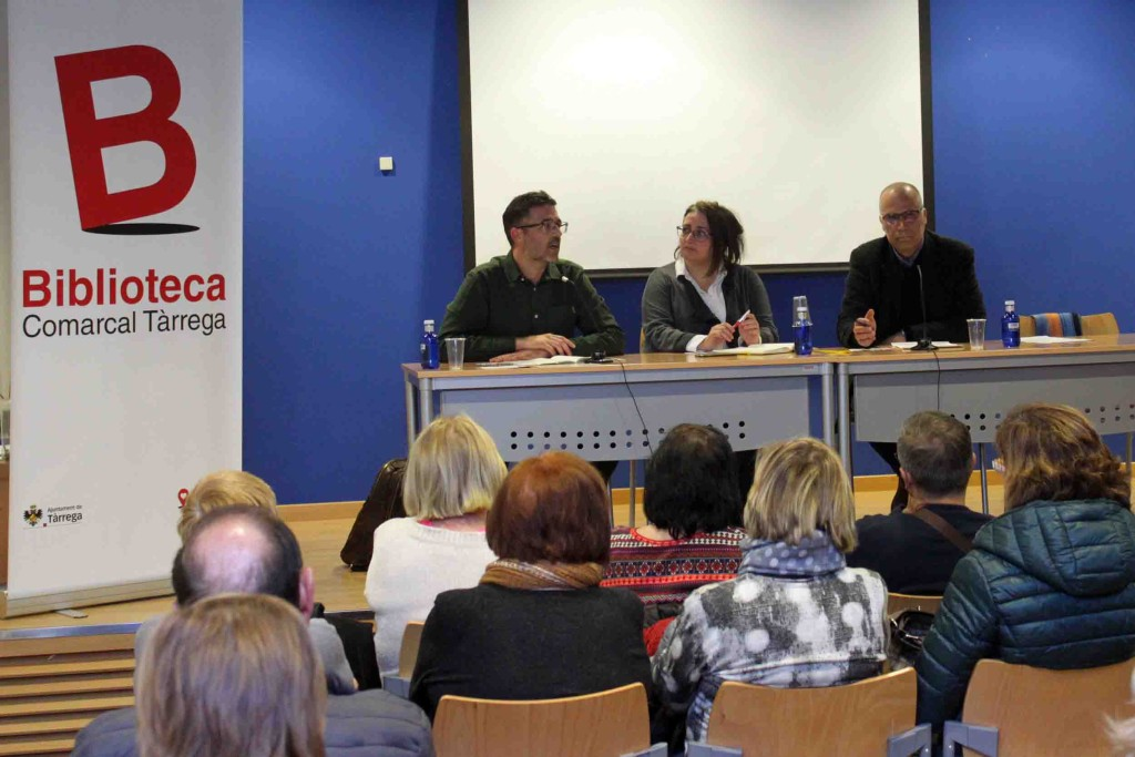 IMATGE D'ARXIU · Presentació dels clubs de lectura el març passat
