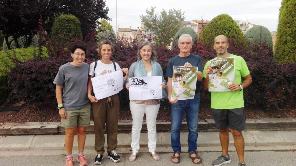 La Cursa del Torró amb el projecte Stargardt