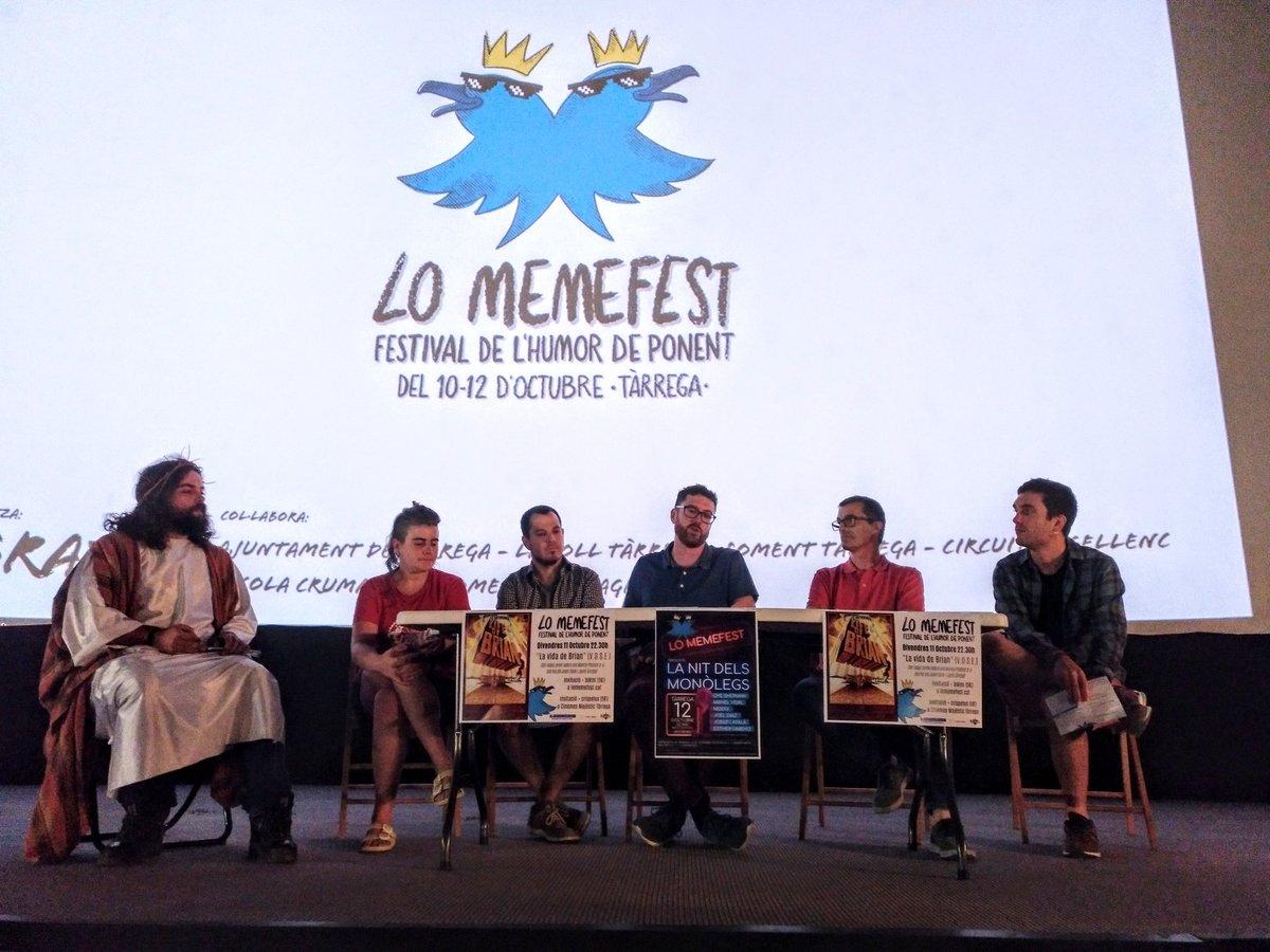 La primera edició de 'Lo Memefest' comptarà amb l'actuació de 6 monologuistes emergents de l'Stand Up Comedy català