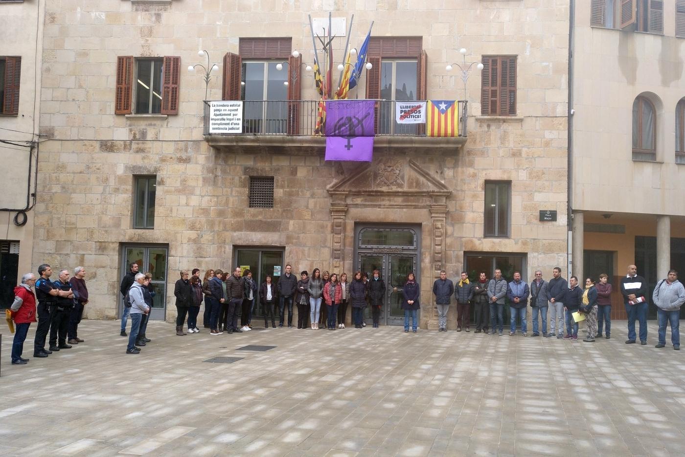 L'Ajuntament de Tàrrega se suma al dia de dol oficial decretat pel Govern català i fa un minut de silenci en solidaritat amb les víctimes dels aiguats