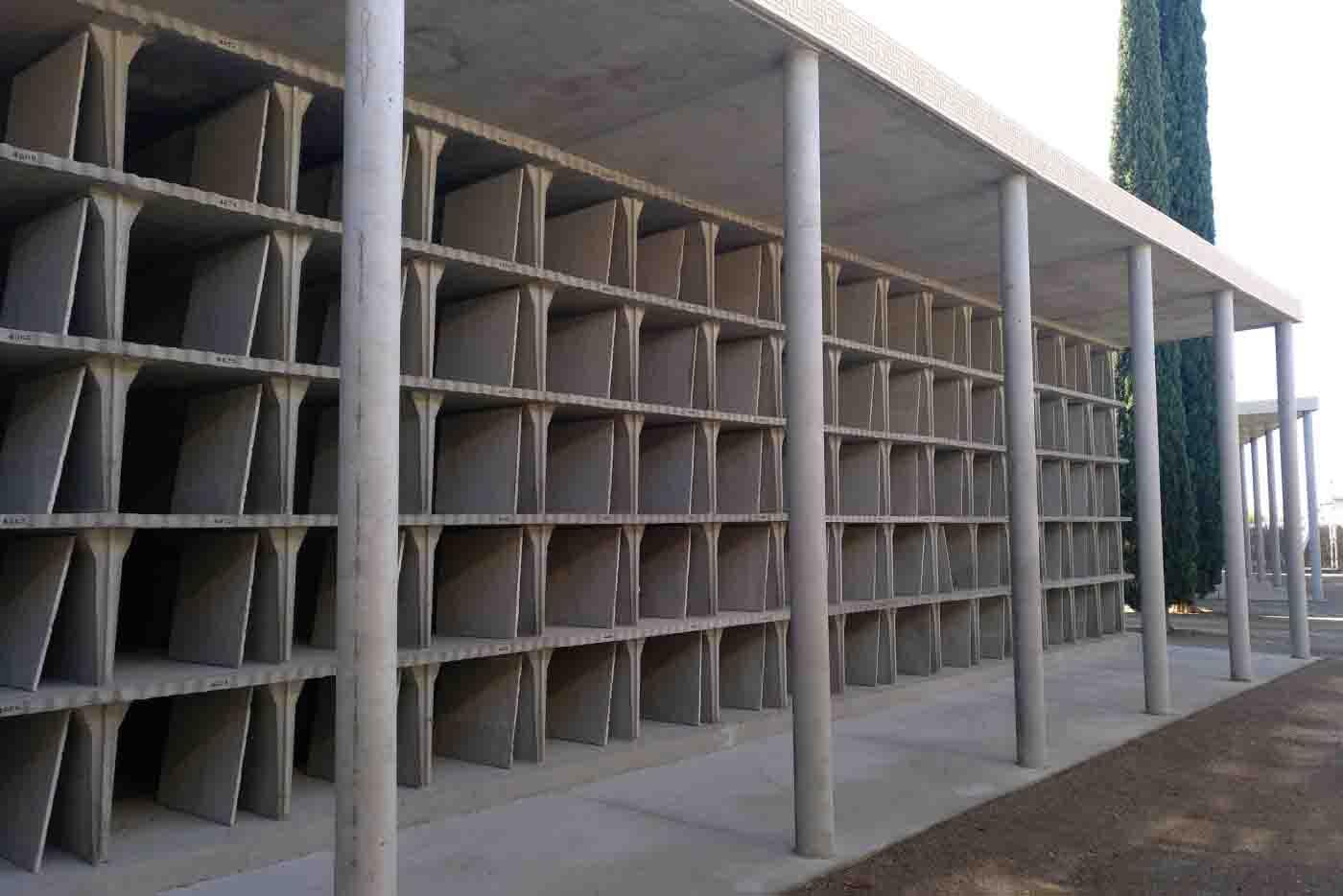 L'Ajuntament de Tàrrega construeix 90 nínxols en una nova fase d'ampliació del cementiri municipal