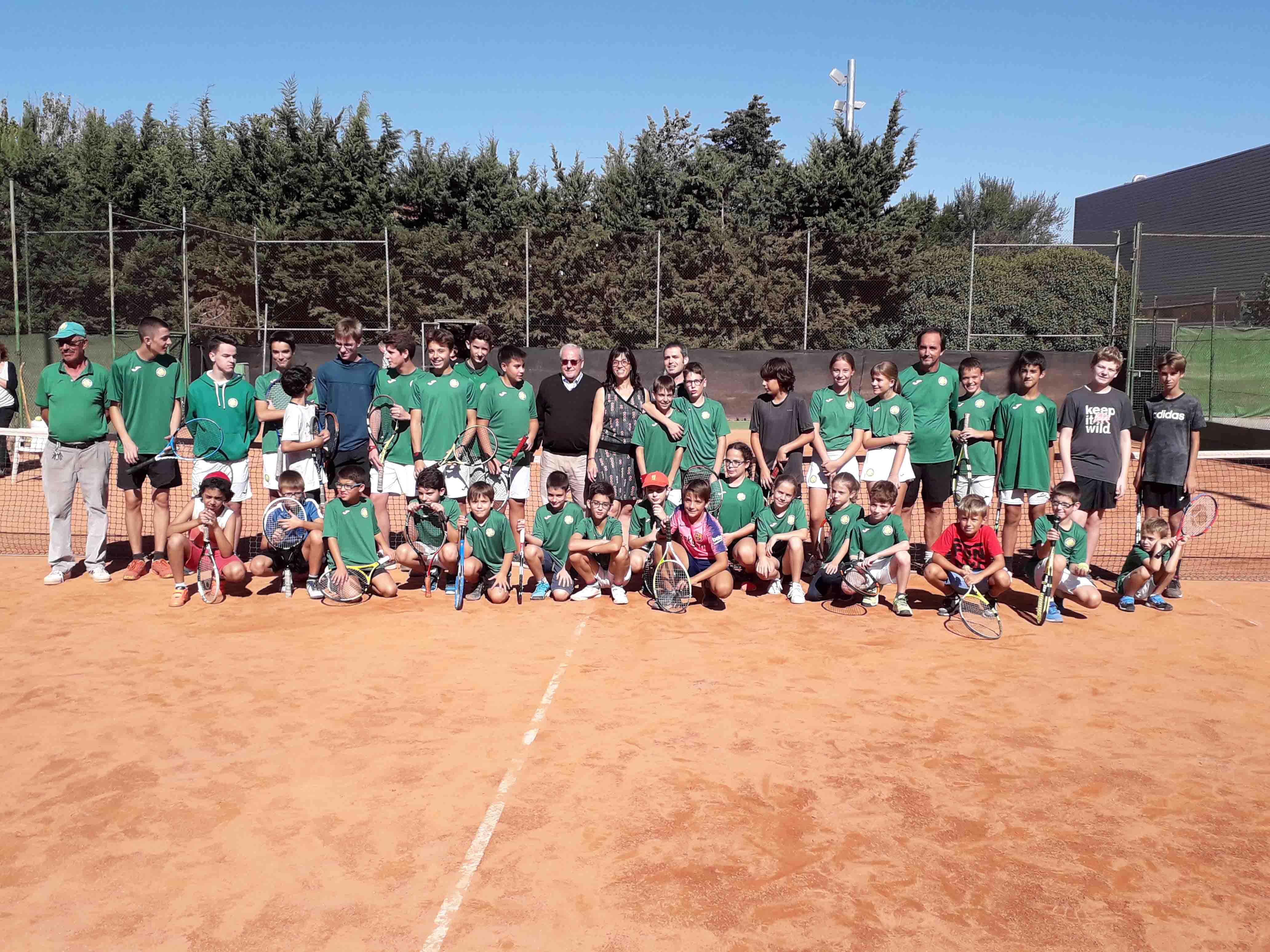 L'Escola del Club Tennis Tàrrega inicia la temporada