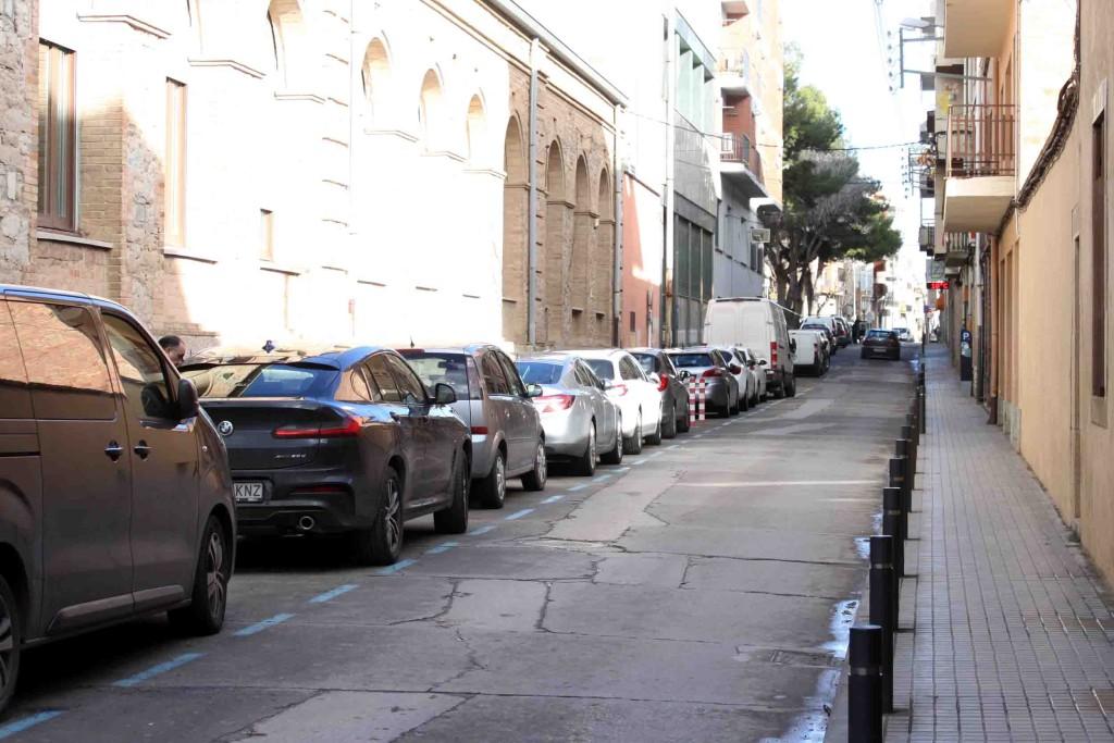 IMATGE D'ARXIU · Carrer de Jacint Verdaguer · Tàrrega