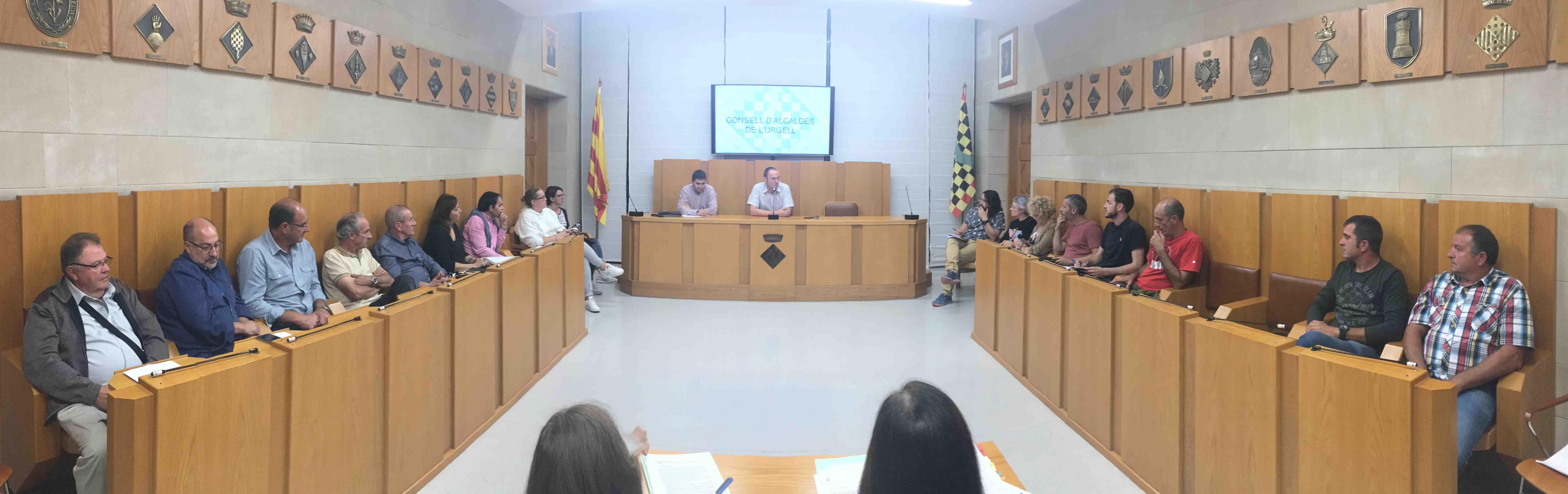 Es constitueix el nou Consell d'Alcaldes de l'Urgell
