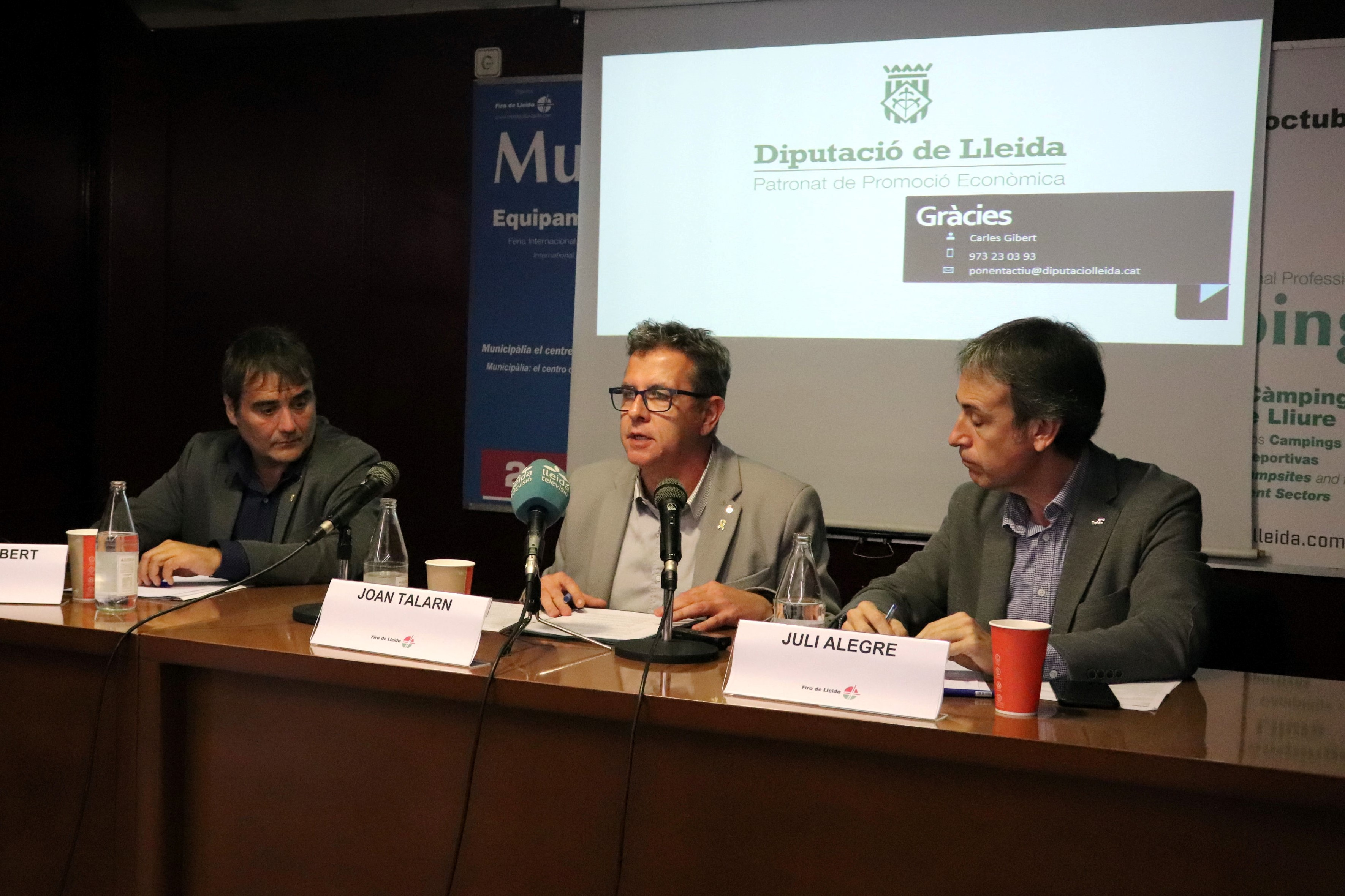La Diputació  dona suport a 58 actuacions del projecte Ponent Actiu amb fons FEDER a les comarques de l'Urgell, Pla d'Urgell, el Segrià i les Garrigues