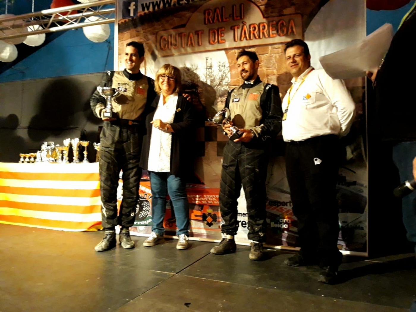Xavier Vidalés i Jordi Hereu s'imposen el en 26è Ral·li Ciutat de Tàrrega, penúltima prova del Campionat de Catalunya