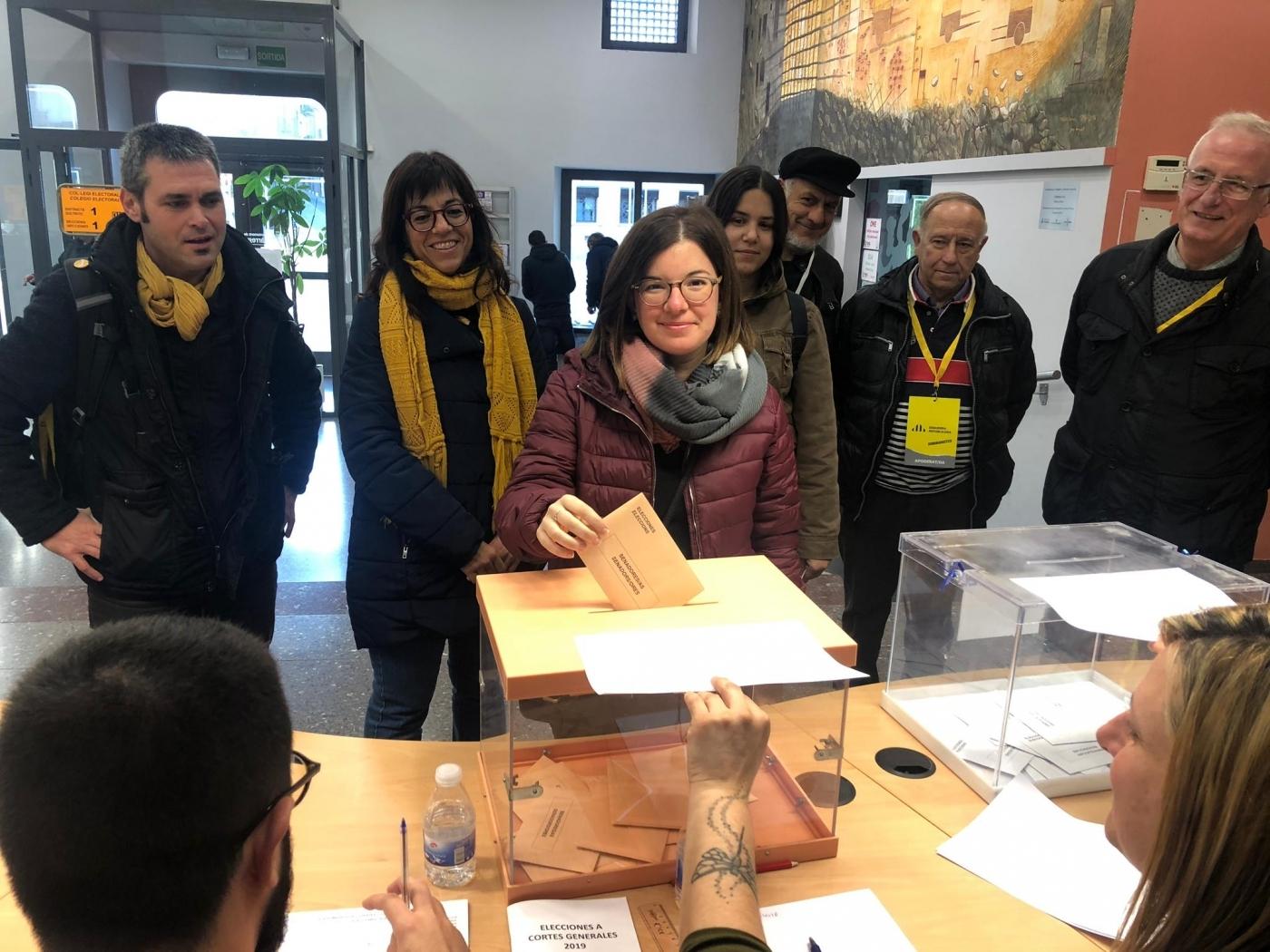 La targarina Sara Bailac renova el seu escó al Senat representant a ERC