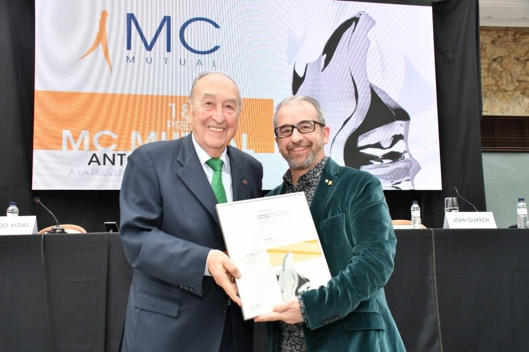 Borges Agricultural & Industrial Nuts ha estat reconeguda per MC MUTUAL pel seu compromís amb la prevenció de riscos laborals