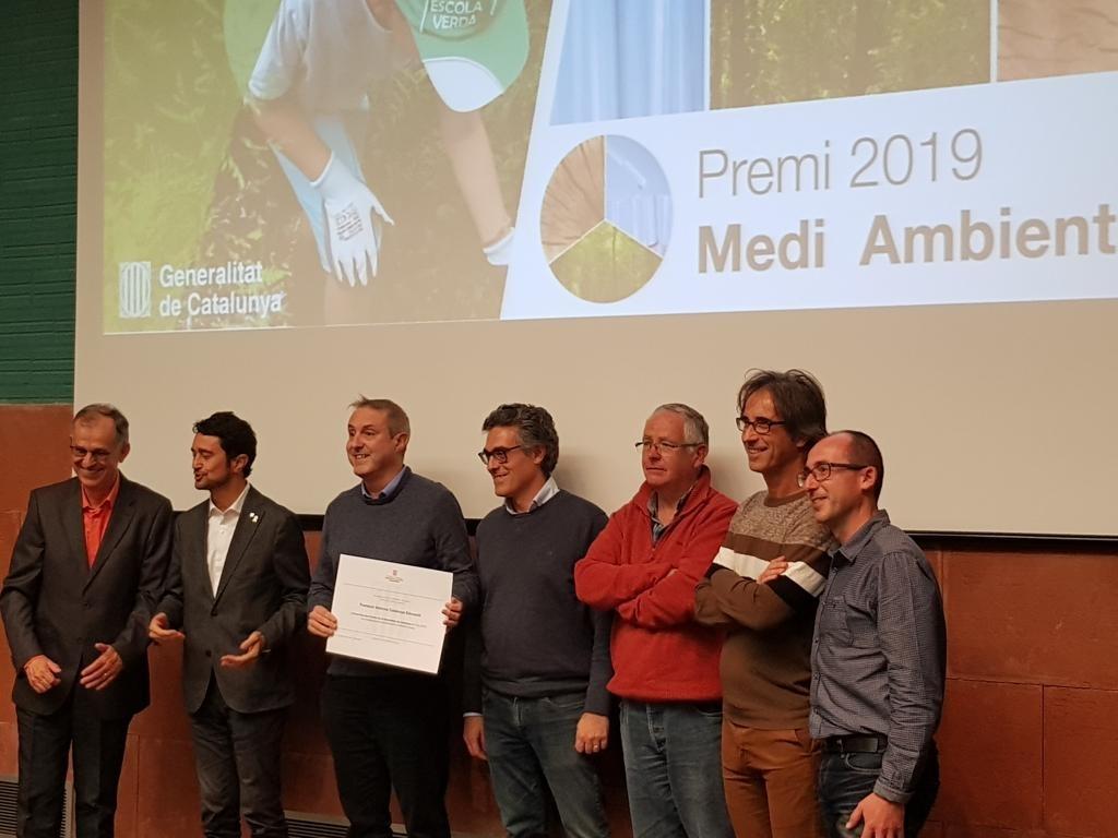 Premi Escoles Verdes 2019 al treball en xarxa de Vedruna Catalunya Educació