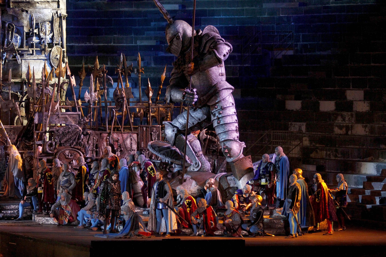 Aquest dimarts torna l'òpera al Cinema Majestic de Tàrrega ambun espectacular 'Il trovatore', des de l'Arena de Verona