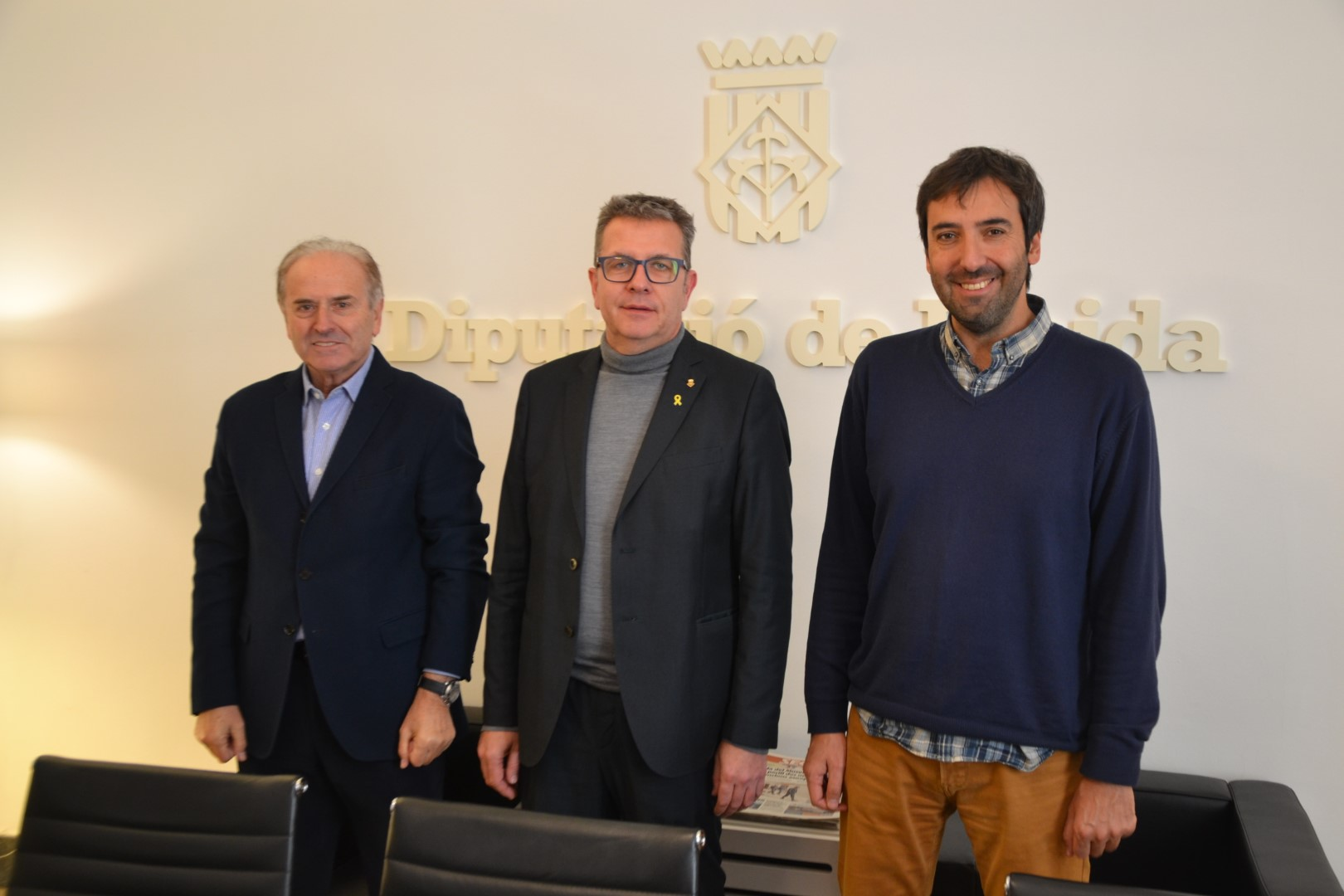La Diputació lliura 5.000 ampolles d'oli de producció pròpia per al Gran Recapte del Banc dels Aliments