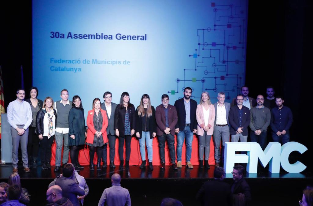 Foto dels nous òrgans de govern de l'entitat · Foto FMC