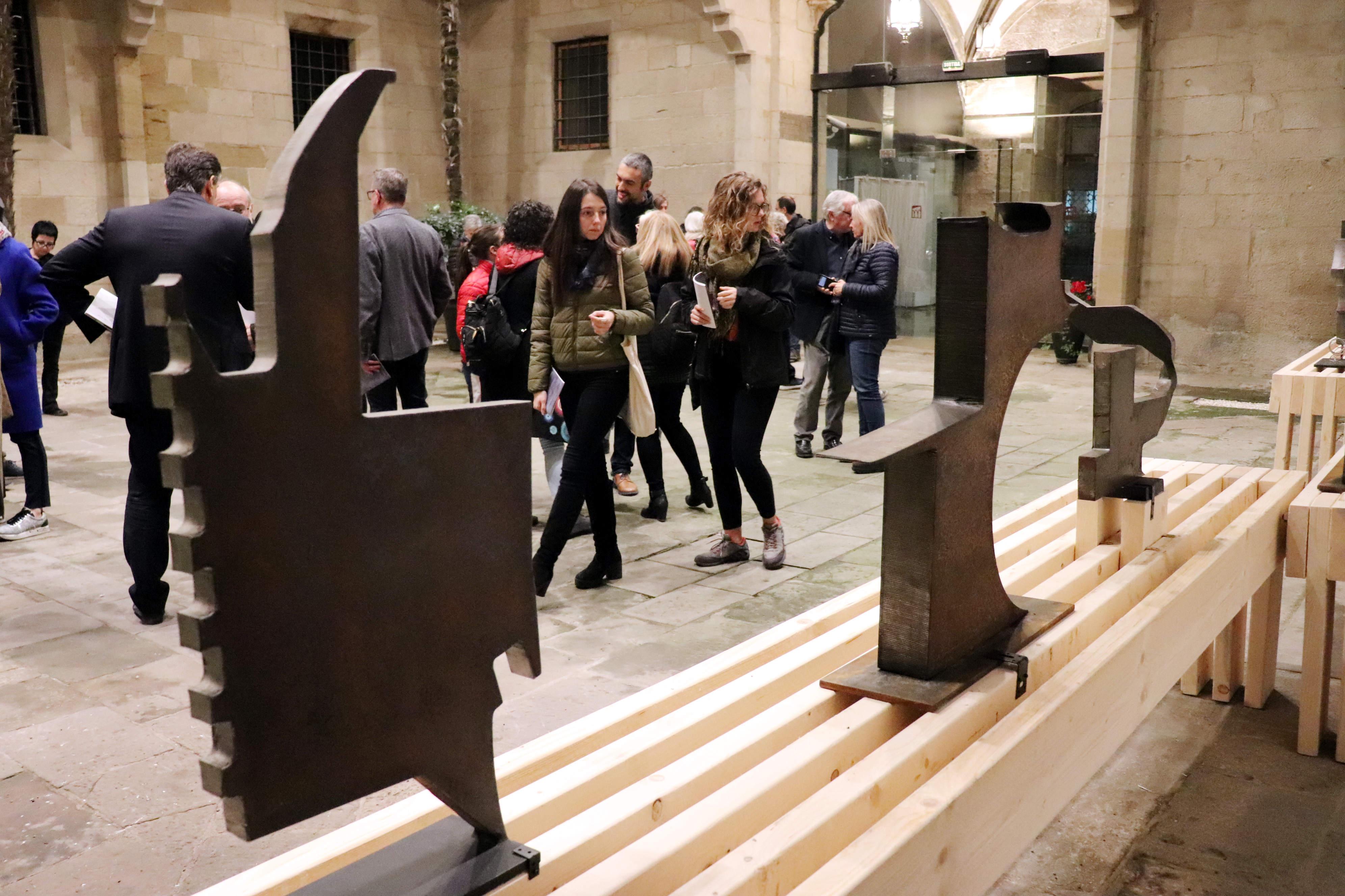 L'univers creatiu de Guillem Viladot presidirà el Pati de l'IEI coincidint amb el 20è aniversari del traspàs de l'artista