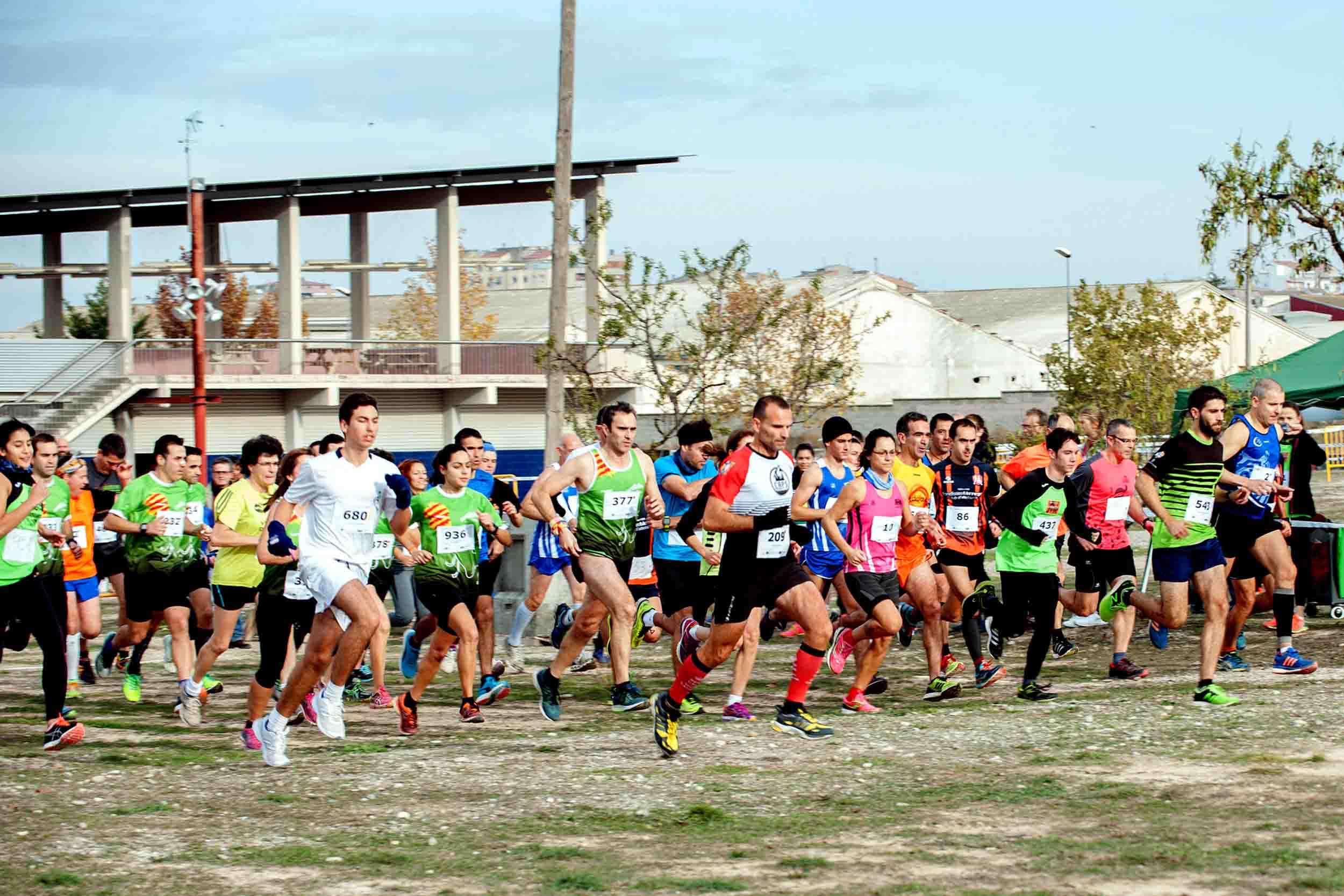 L'atletisme es dona cita al 27è Cros Intercomarcal de Tàrrega el diumenge 17 de novembre