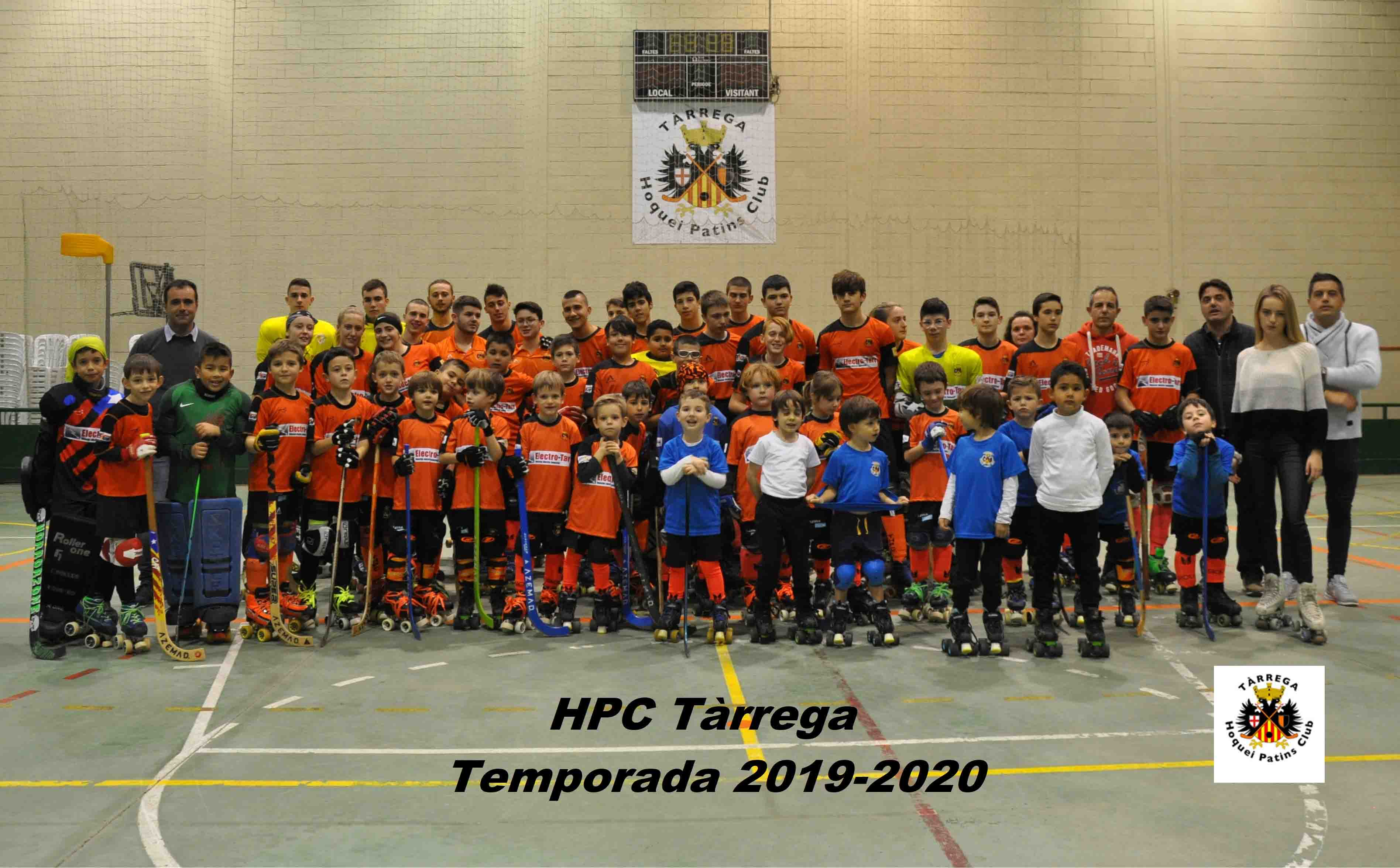 Presentació dels equips de la temporada 2019-2020 del Hoquei Patins Club Tàrrega