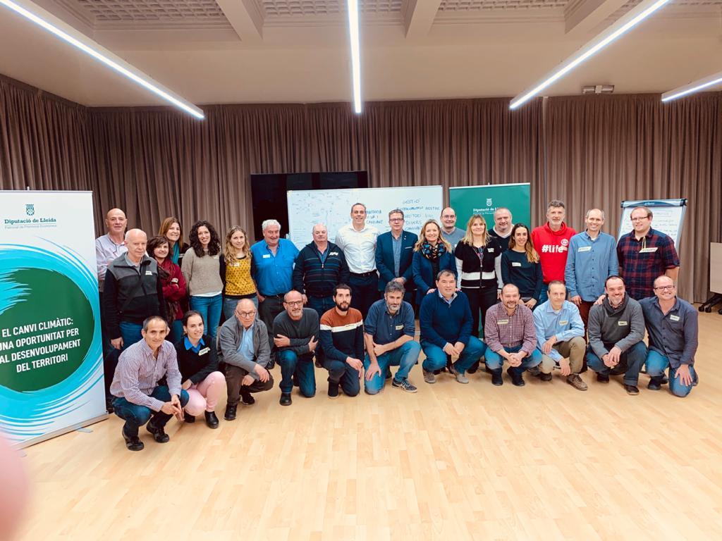 Jornada  a la Diputació per adoptar mesures davant el canvi climàtic a la demarcació de Lleida