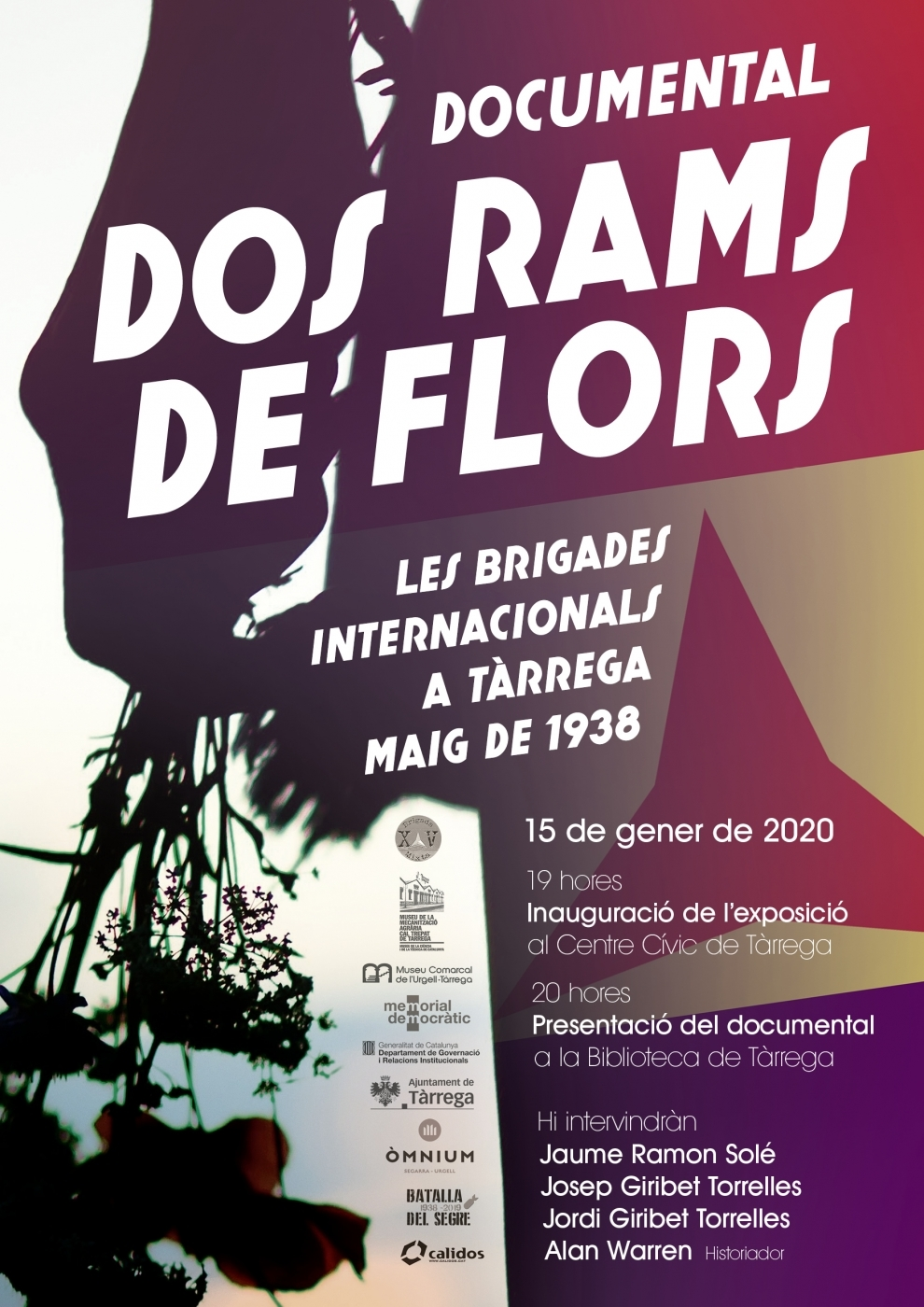 Presenten un documental sobre l'estada de les Brigades Internacionals a la Segarra i a l'Urgell