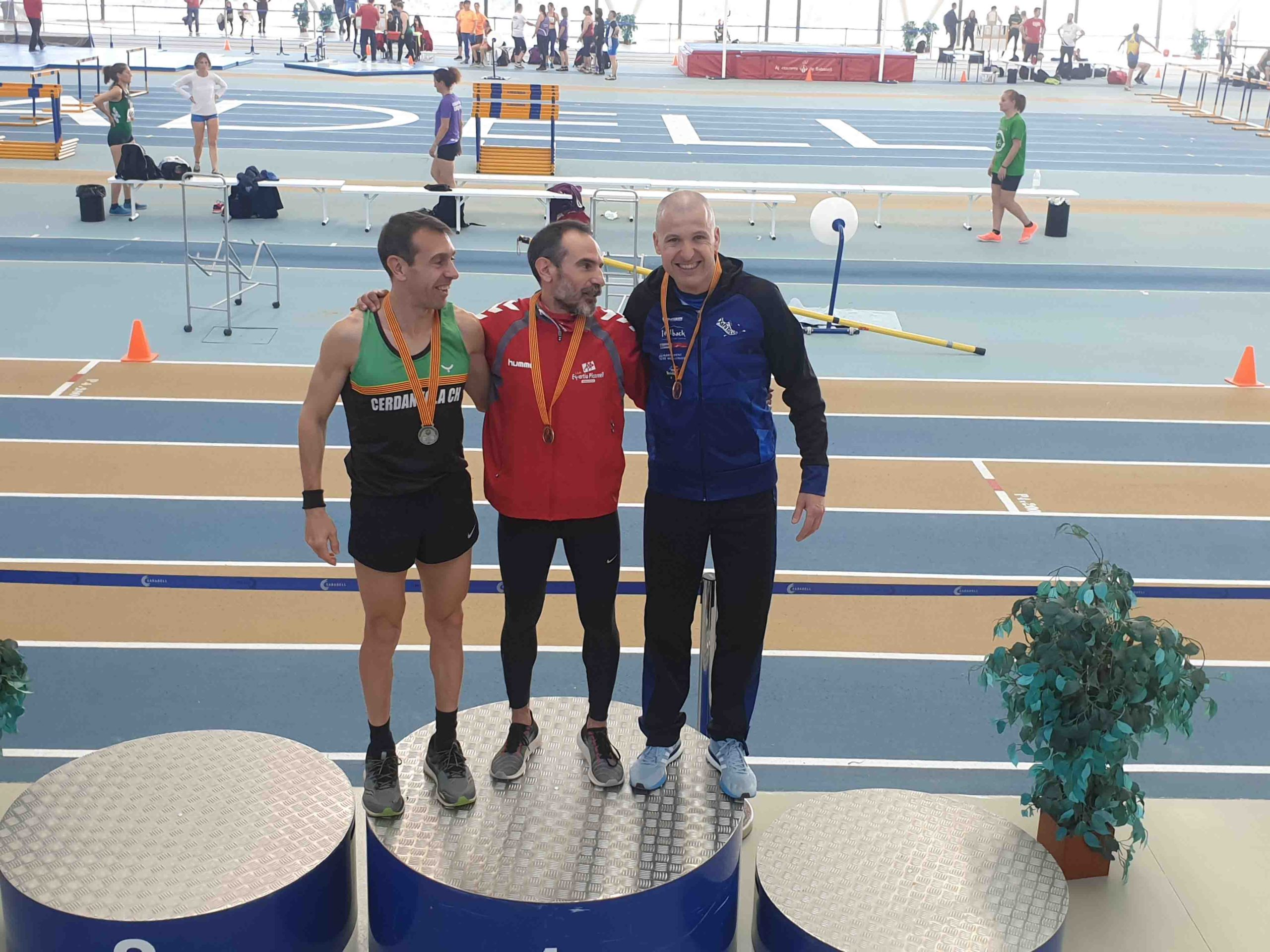 L'atleta Targarí Josep Ramon Sanahuja aconsegueix dues  noves medalles al Campionat de Catalunya