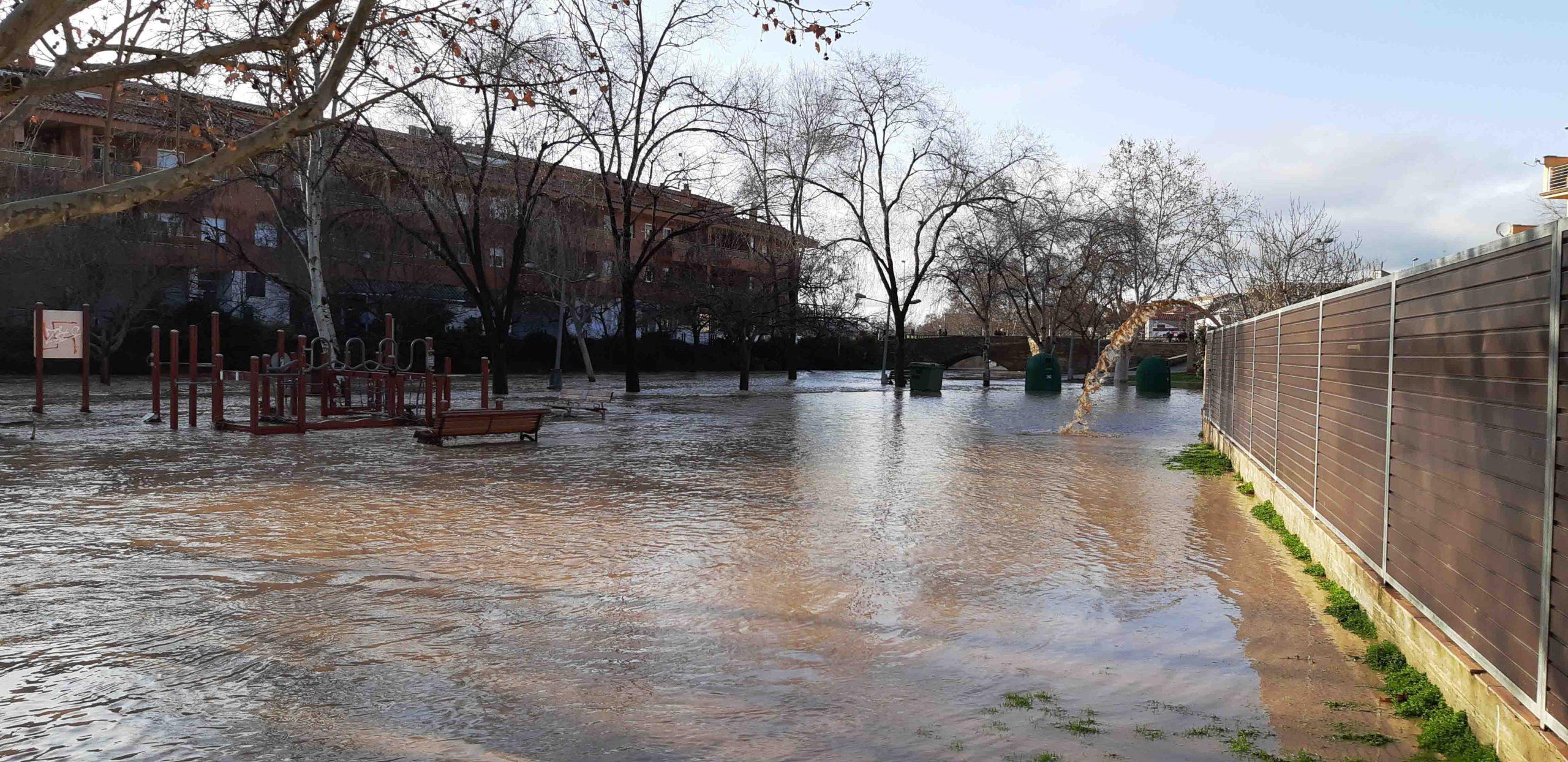Agramunt valora en 78.000 euros els d'anys per les inundacions