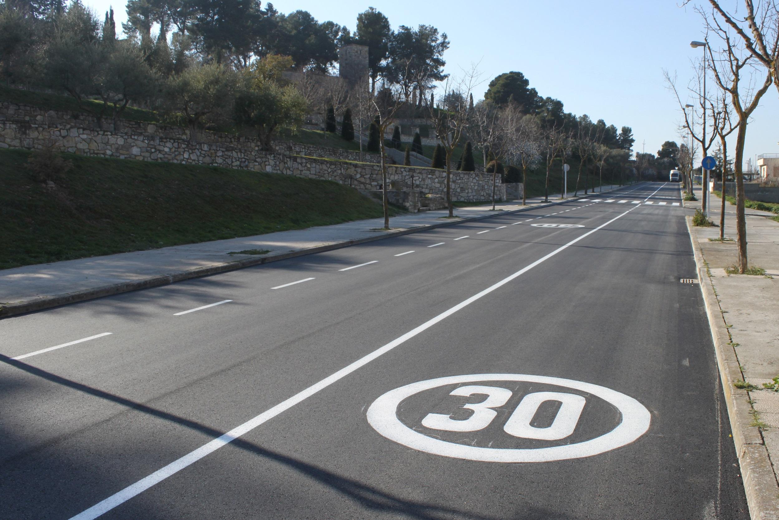 L'Ajuntament de Tàrrega finalitza els treballs de millora del carrer de Les Oliveres