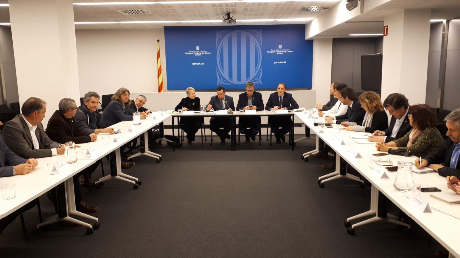 La Generalitat destina 8,8 milions d'euros a la reparació dels danys provocats pels aiguats de l'octubre passat a Lleida