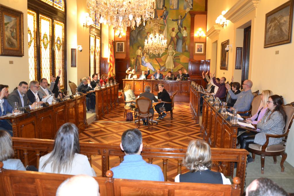 El Ple de la Diputació de Lleida aprova els pressupostos 2020 amb els vots d'ERC, JxCat i UA