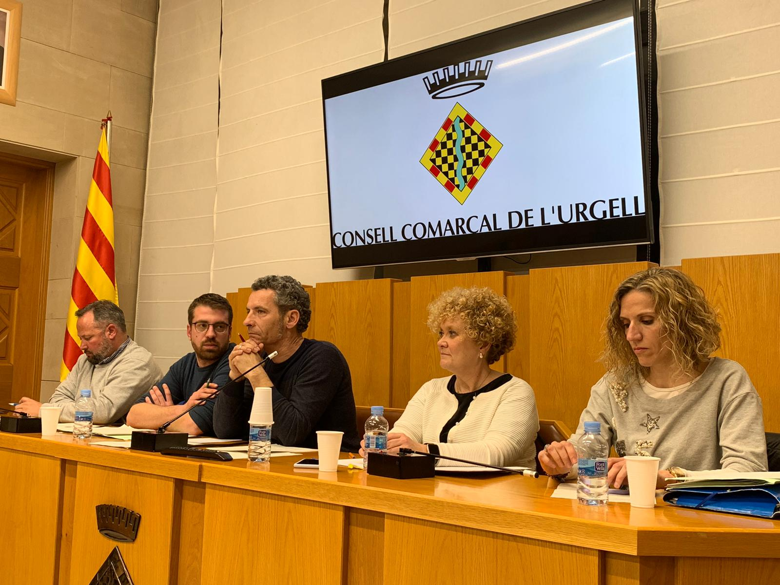 El Consell Comarcal de l'Urgell aprova un pressupost de 5.719.657 euros per a l'exercici 2020