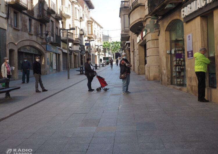 L'alcaldessa de Tàrrega valora positivament la reactivació econòmica de la ciutat i fa una crida a la no relaxació