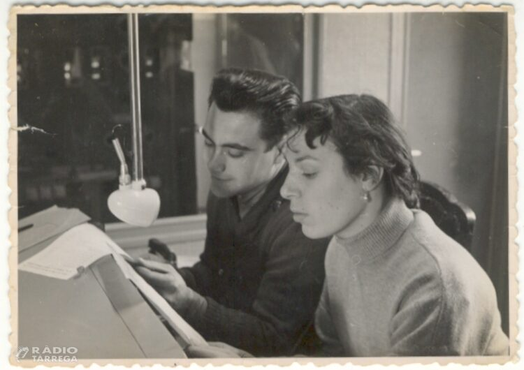 Mor Pilarín Minguell periodista i actriu a Ràdio Tàrrega i Ràdio París