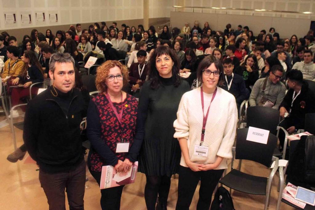 Benvinguda per part de les autoritats i la ponent Marta Roqueta
