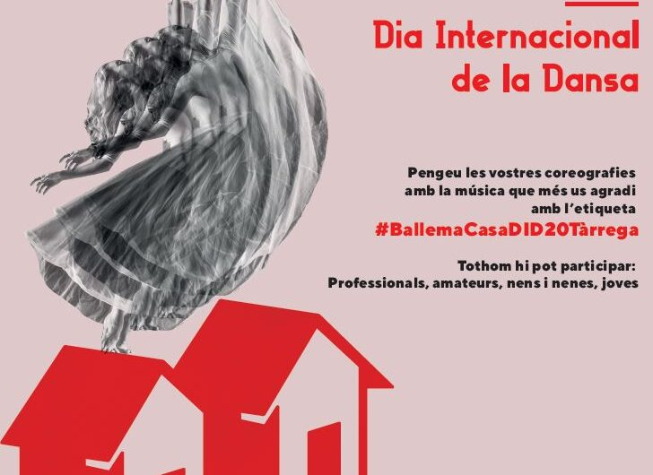 La Regidoria de Cultura de Tàrrega anima a celebrar el Dia Internacional de la Dansa a les xarxes